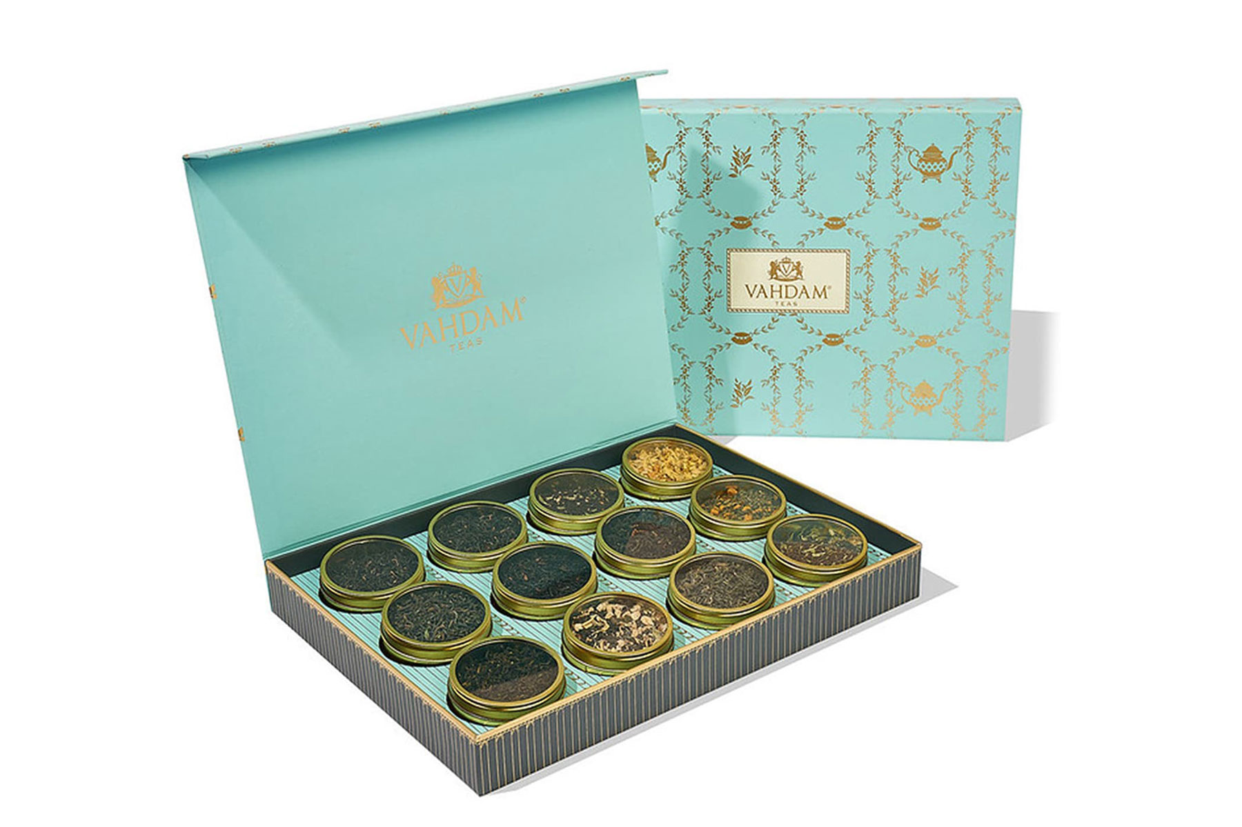 Gift set of loose leaf teas