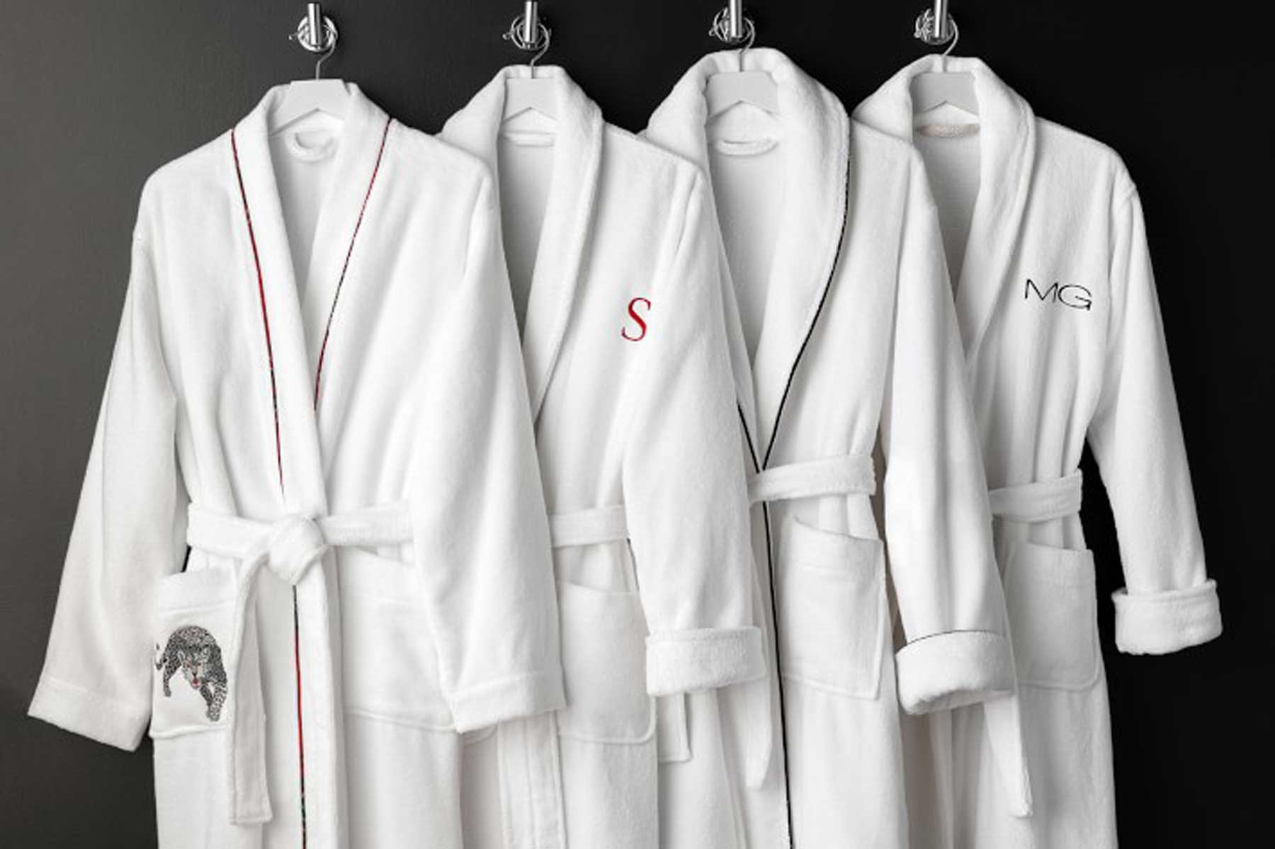 Chambers® Hydrocotton Robe with Piping