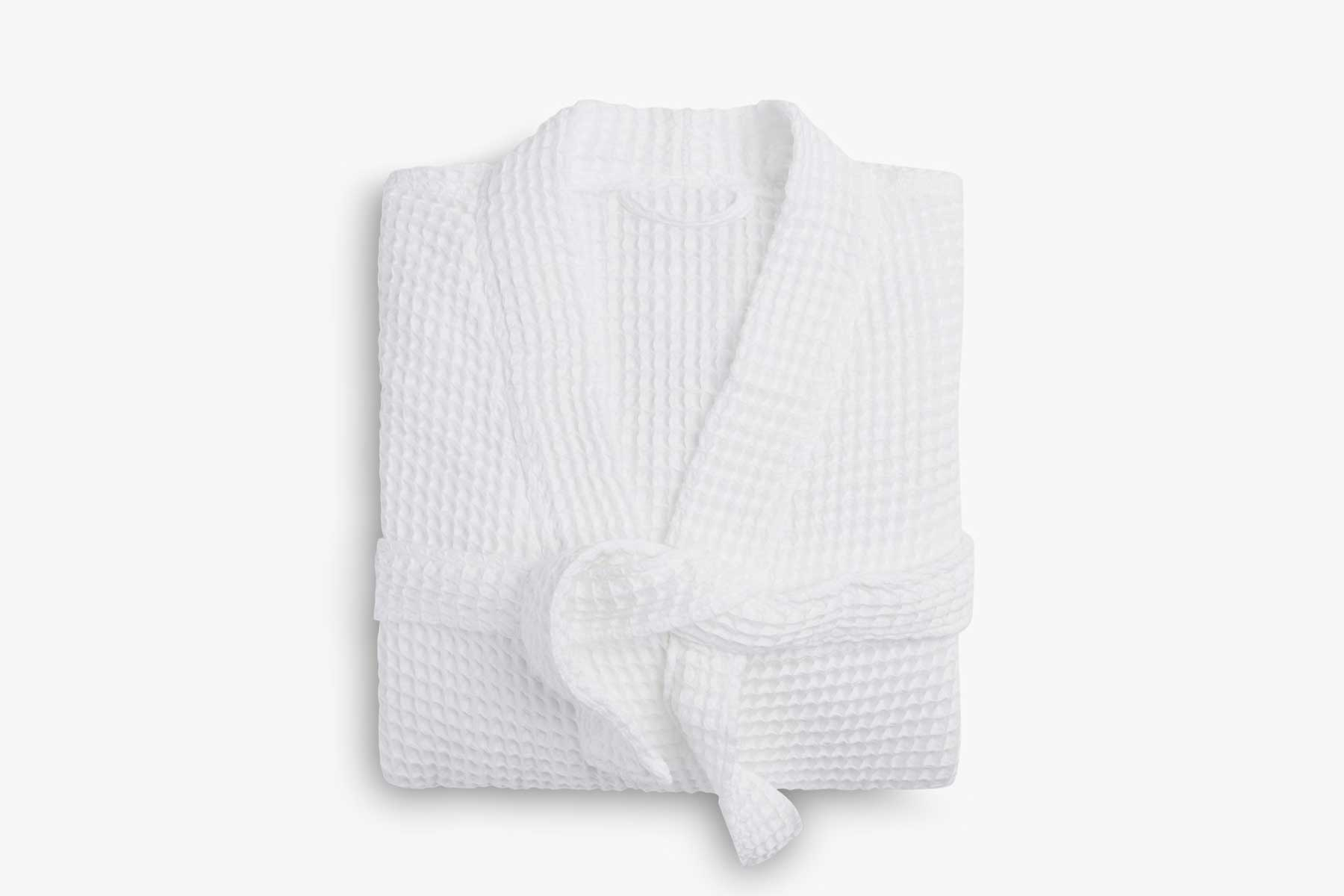 Product image of Parachute's Waffle Robe in White