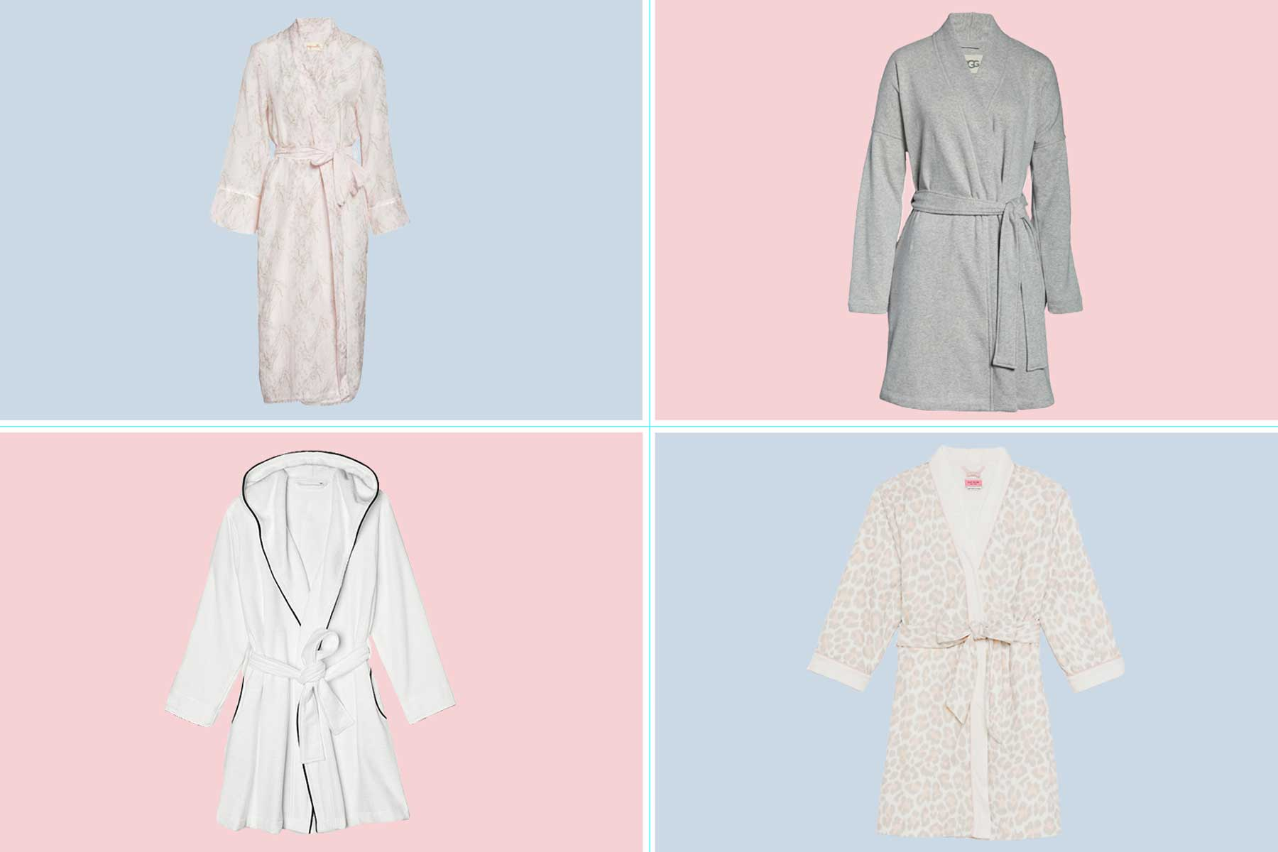 Women's bathrobes from Nordstrom, Bloomingdales, and Kate Spade
