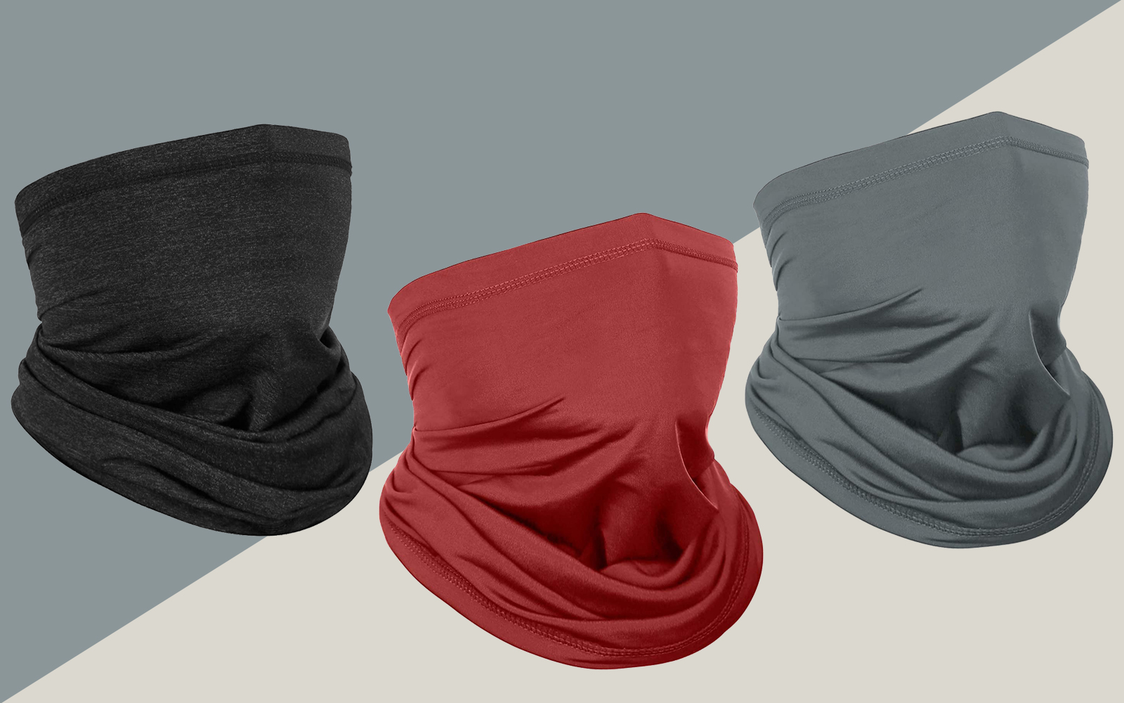 Achiou Neck Gaiter Face Scarf Mask-Dust