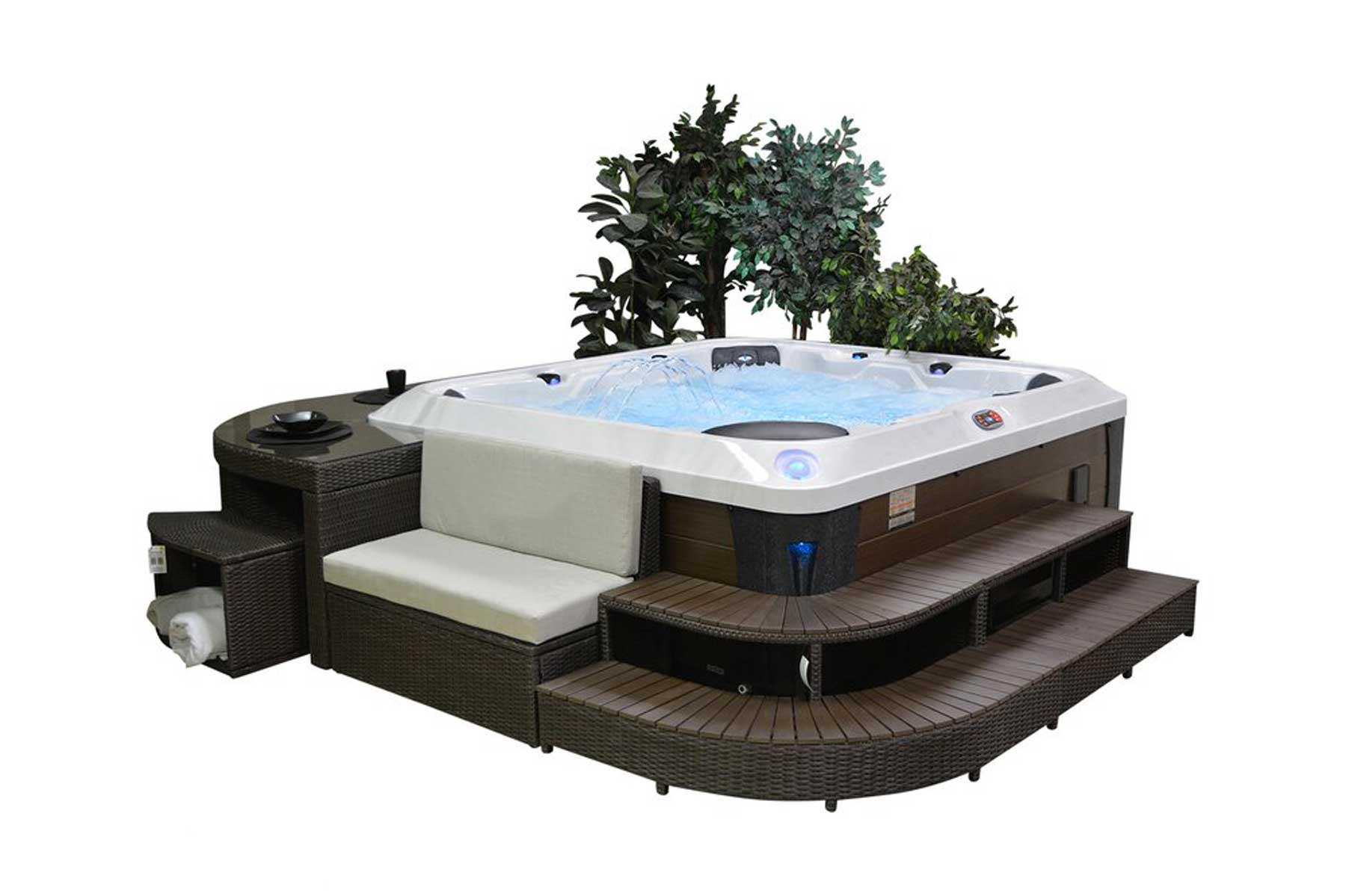 The Best Hot Tubs For Your Deck Patio Or Backyard Travel Leisure Travel Leisure
