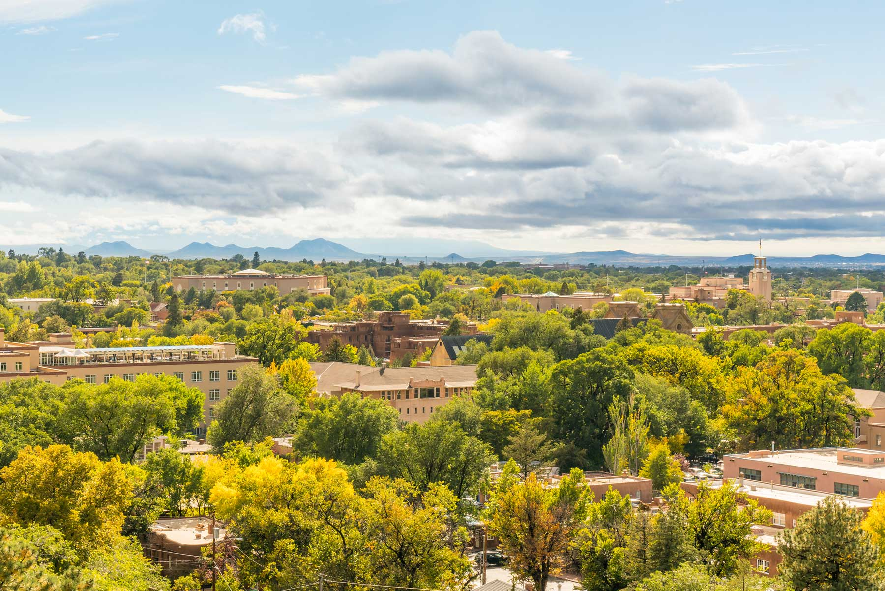 Santa Fe, New Mexico Skyline