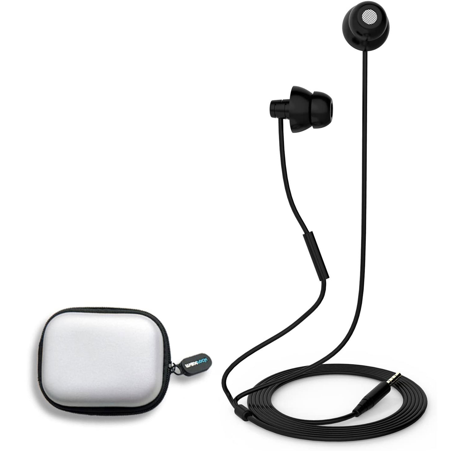 Unique Total Soft Silicon Sleeping Headphones Earplugs Earbuds