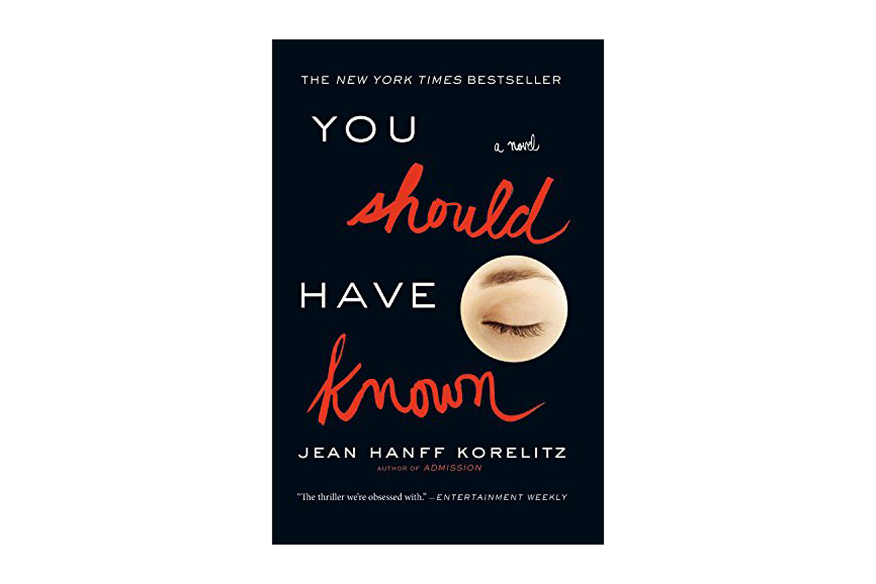 """You Should Have Known"" book"