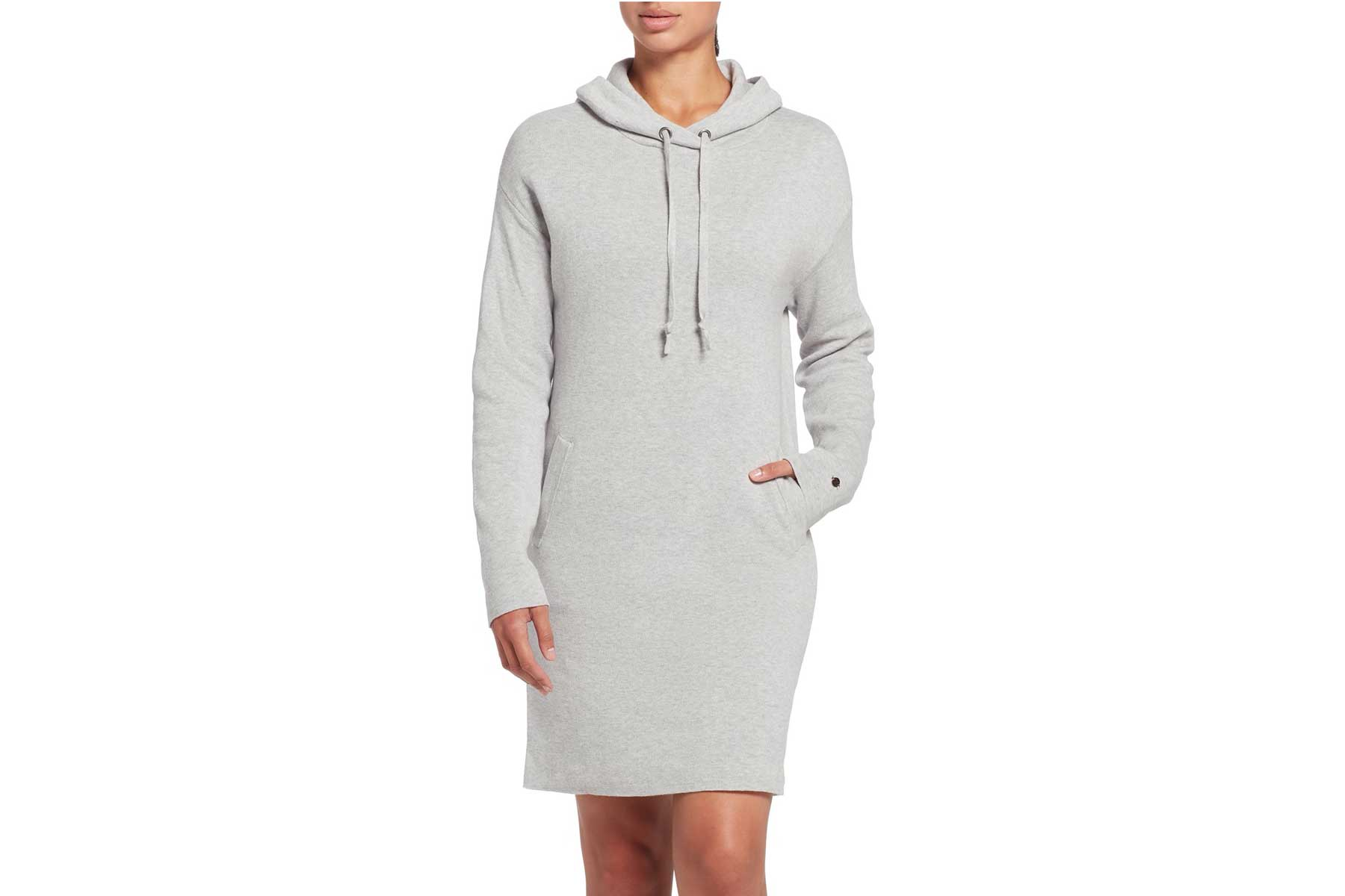 CALIA by Carrie Underwood Women's Journey Hooded Sweater Dress
