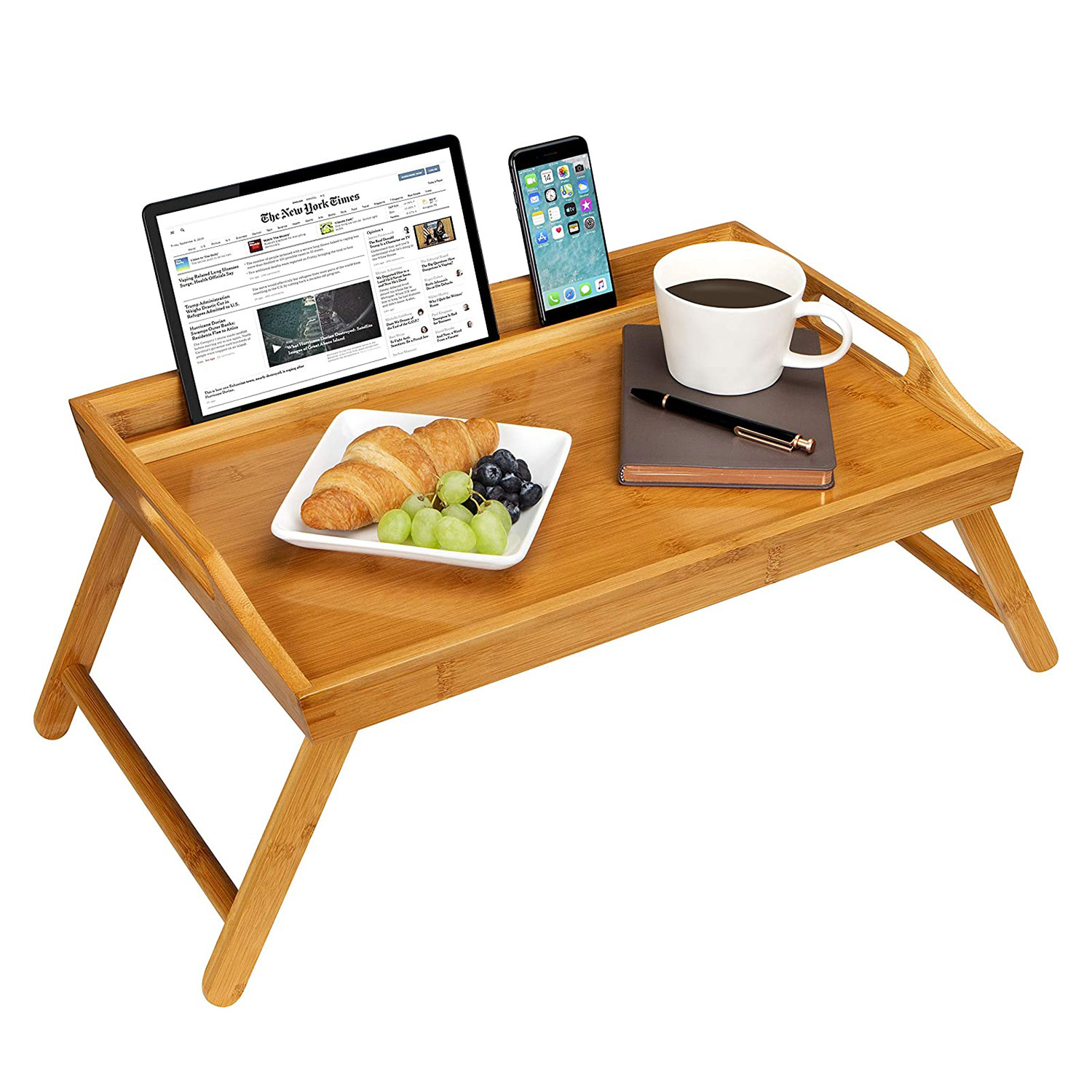 LapGear Media Bed Tray with Phone Holder