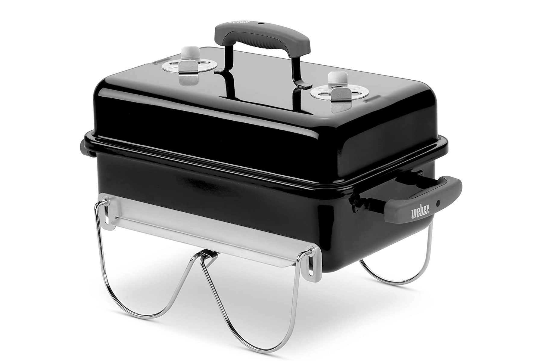 Portable Grill: Weber Go-anywhere Charcoal Grill