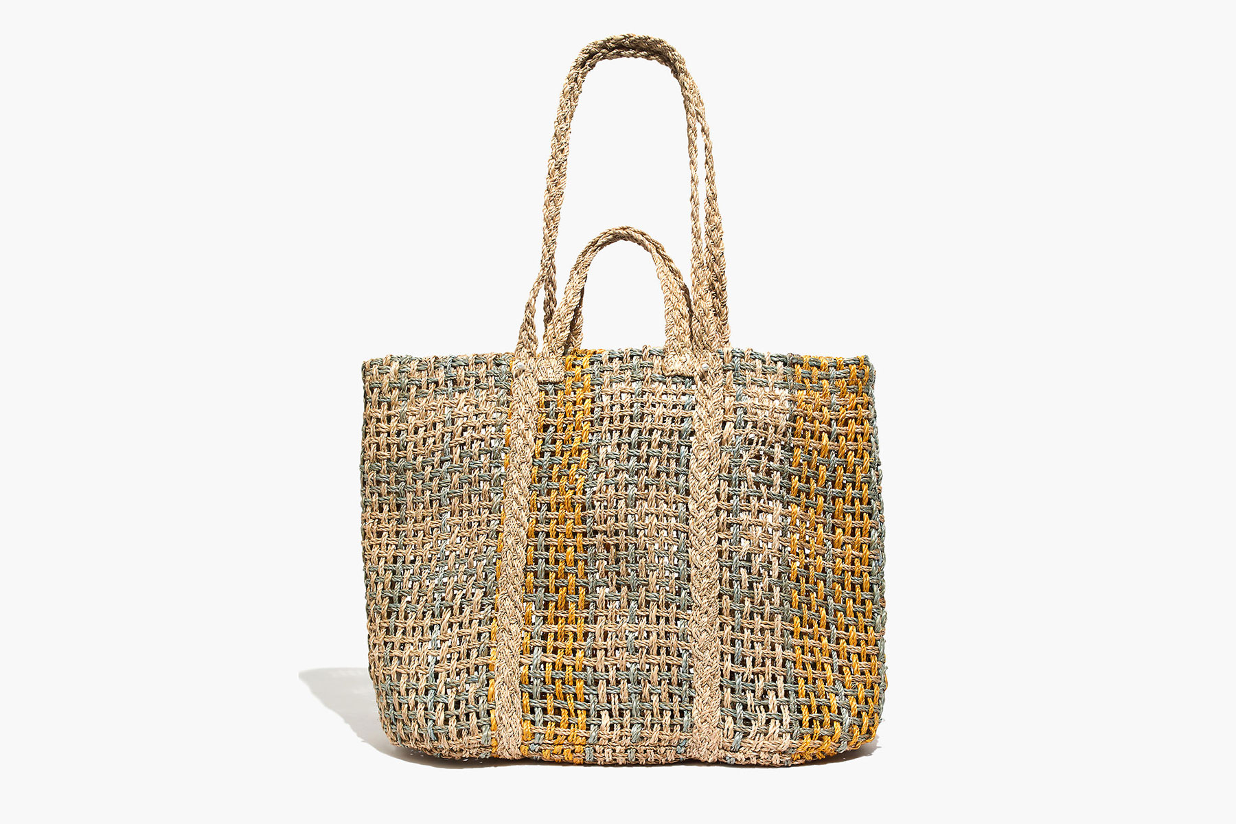 Madewell Straw Beach Tote Bag