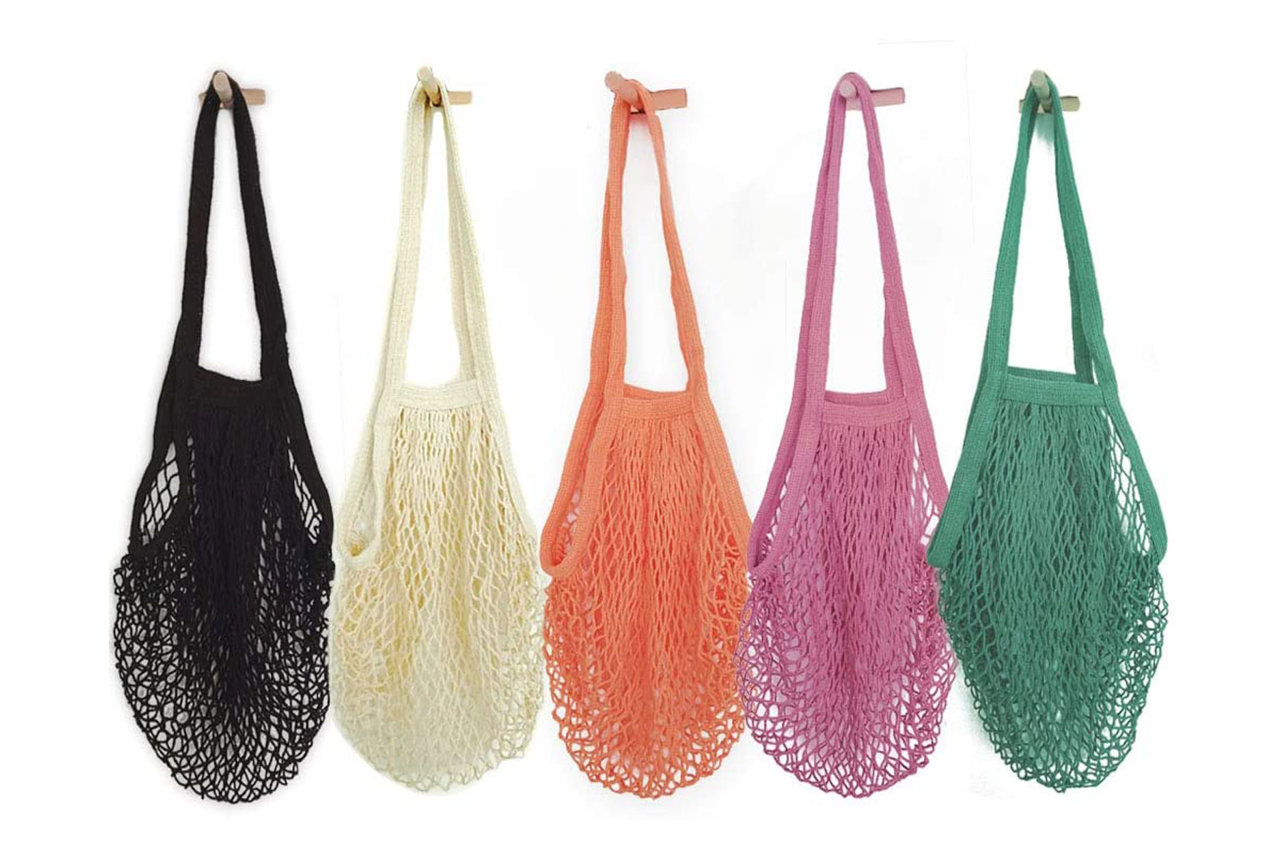 Hotshine Cotton Mesh Shopping Bags