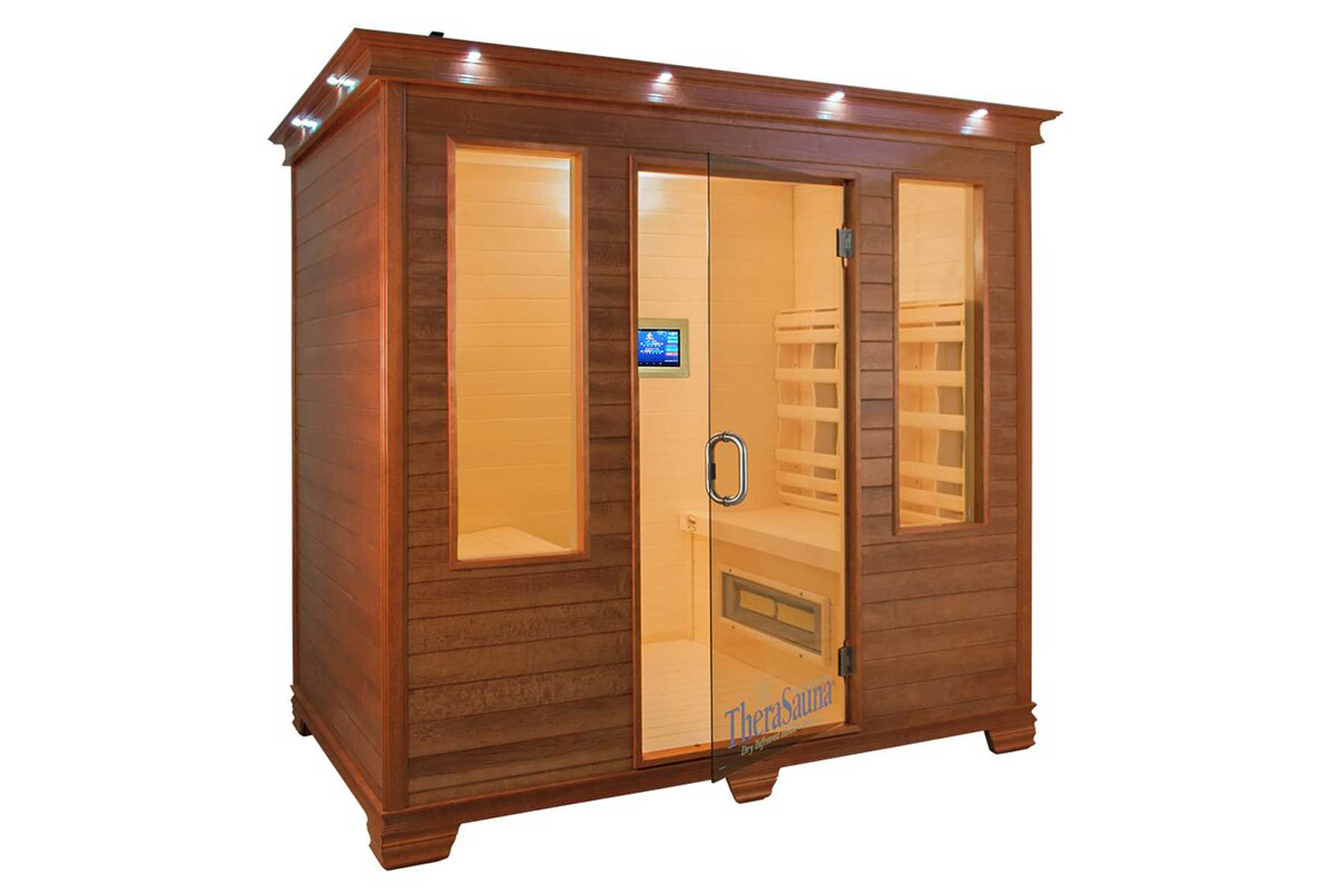 4 Person Face to Face FAR Infrared Sauna with MPS Touch View Control