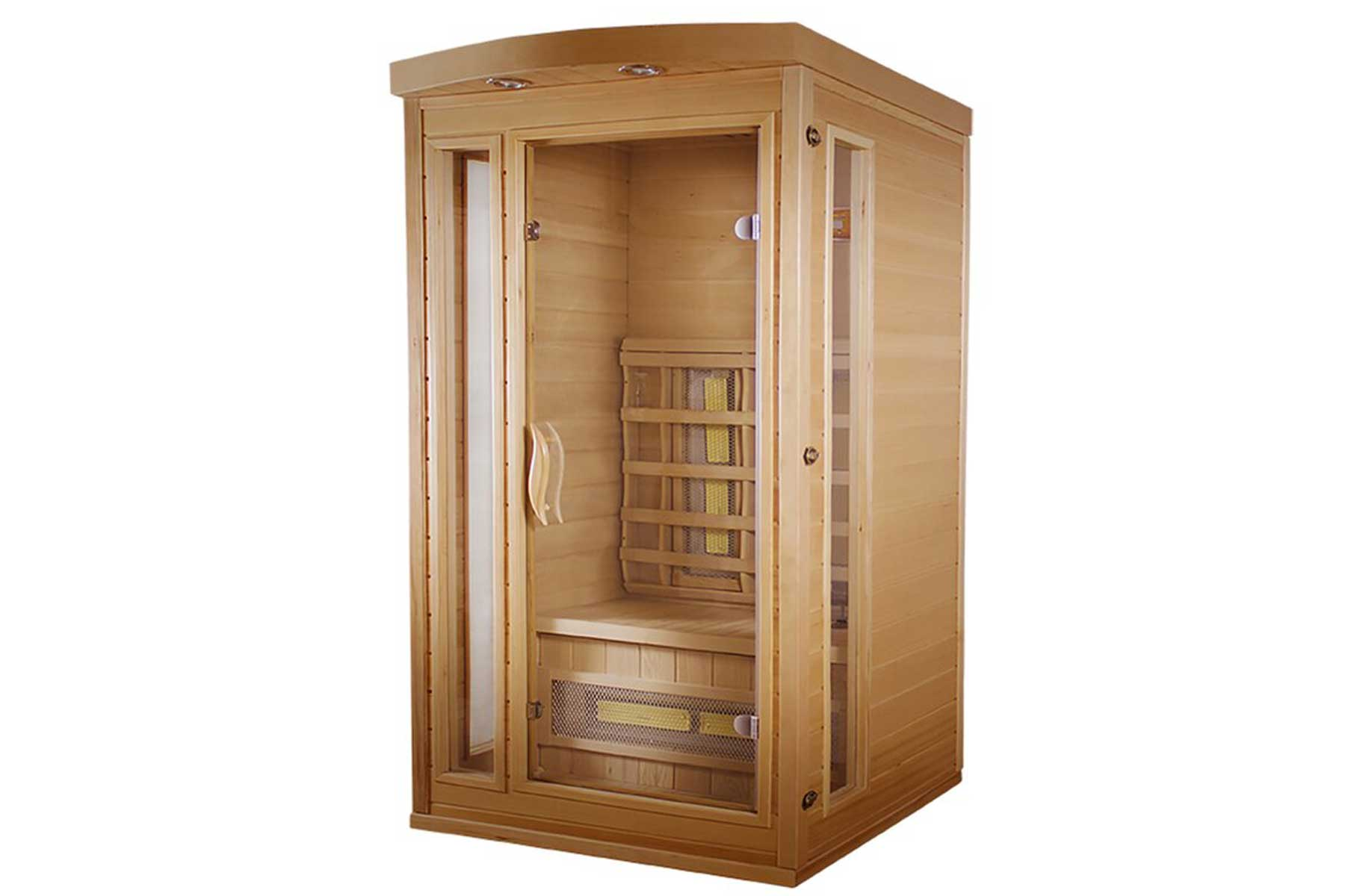 TheraSauna Classic 1 Person FAR Infrared Sauna with Soft Touch Control
