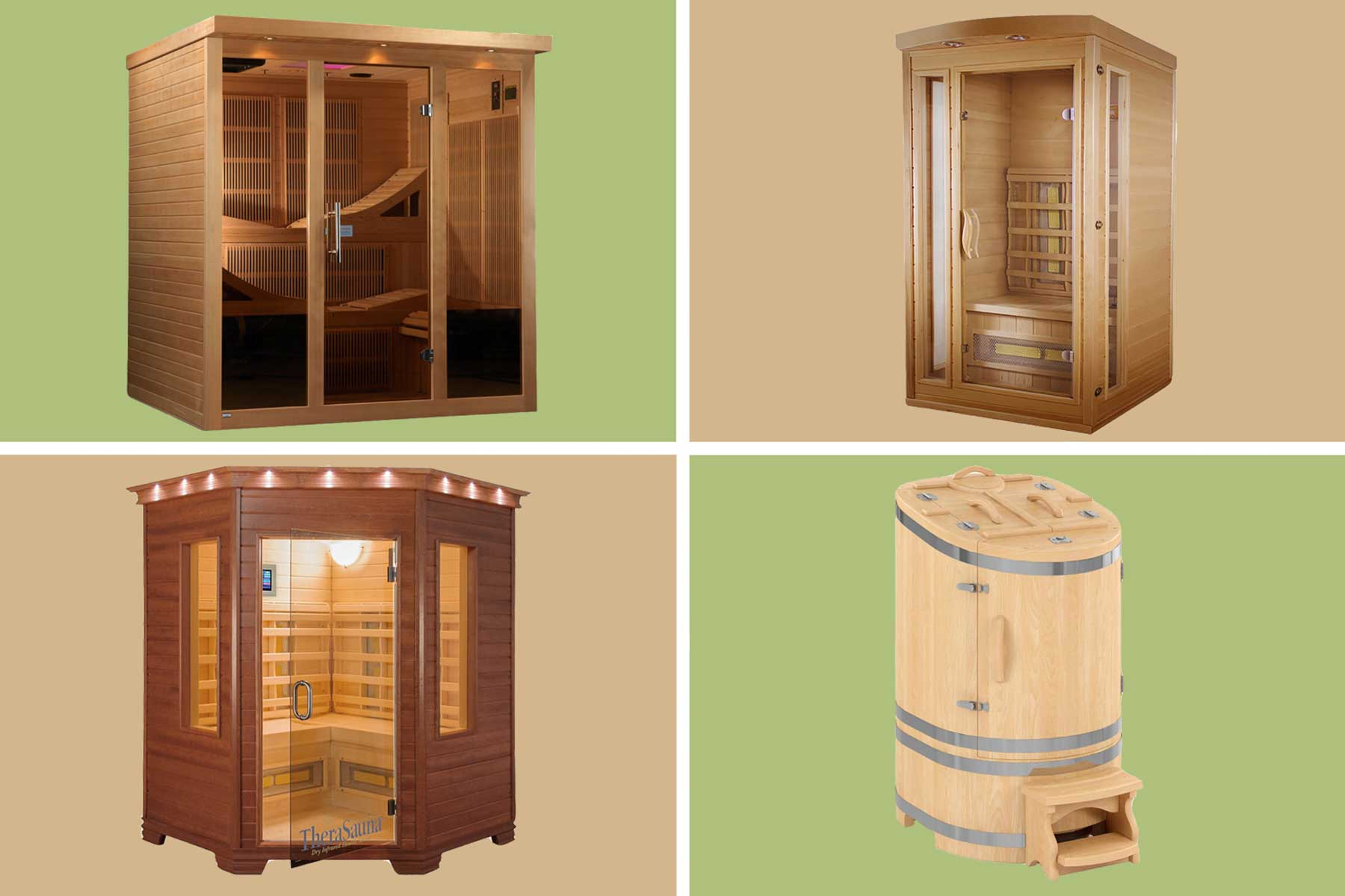 Home saunas from Wayfair
