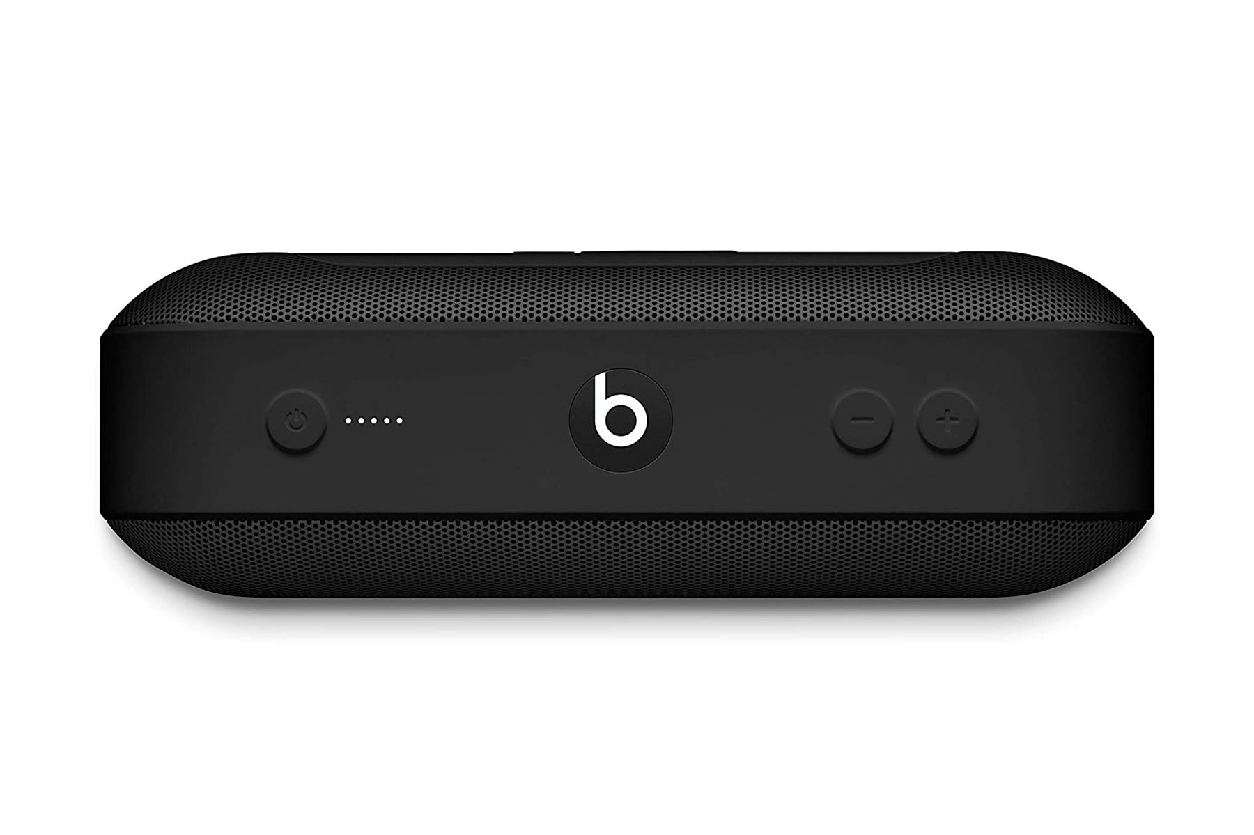 Black portable speaker