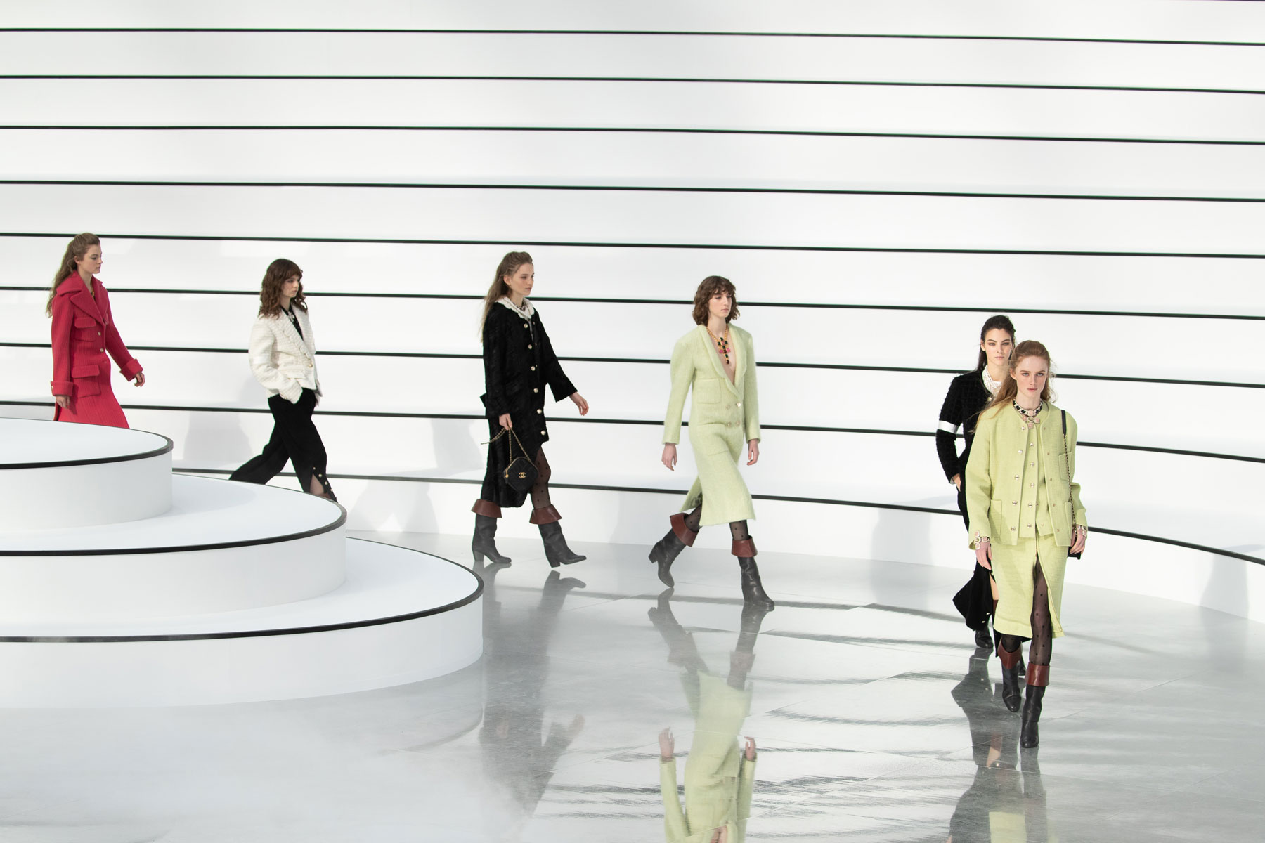 Chanel runway at Paris Fashion Week