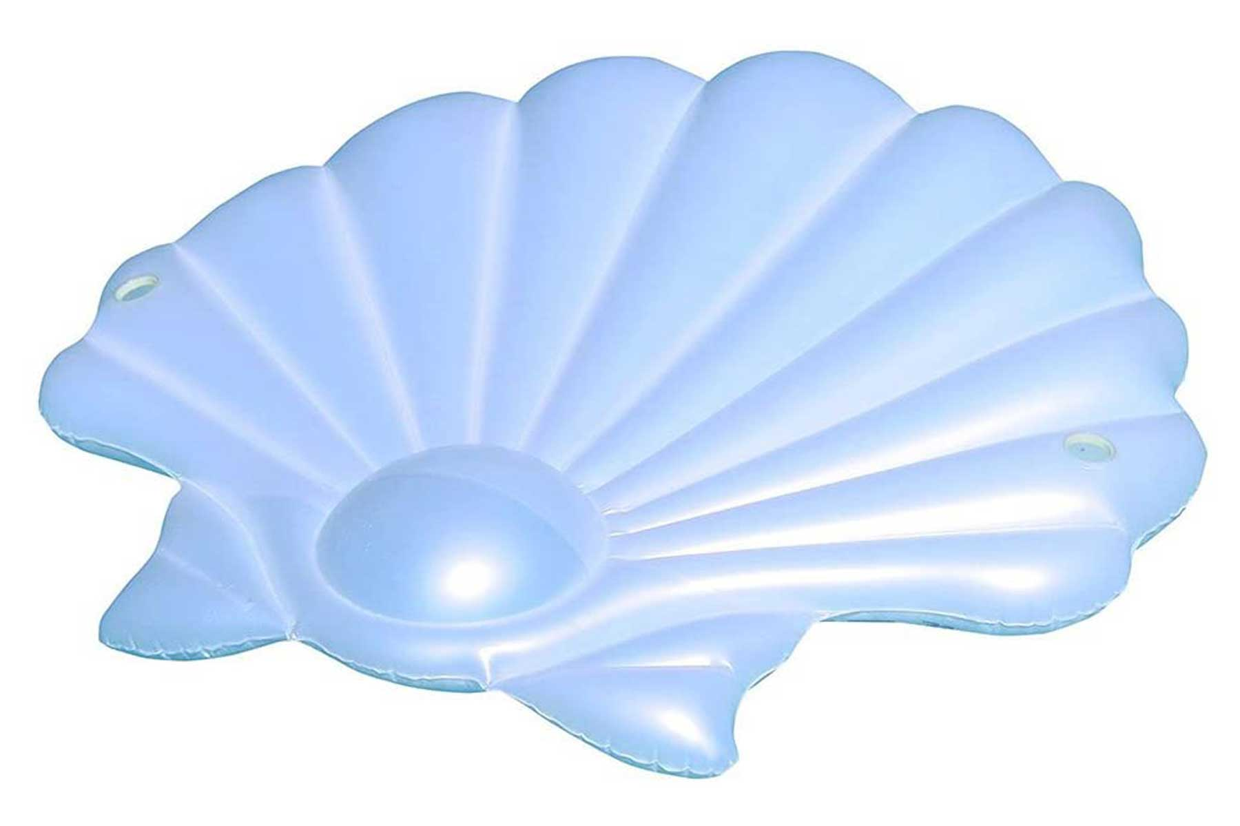 This shell pool float is made for anyone who has ever dreamed of being a mermaid.To buy: amazon.com, $45