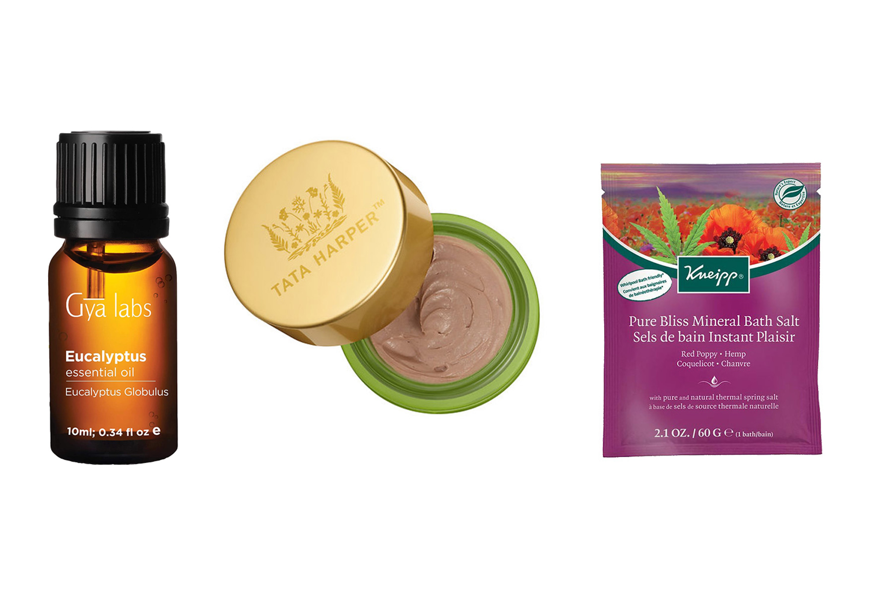 Various wellness products