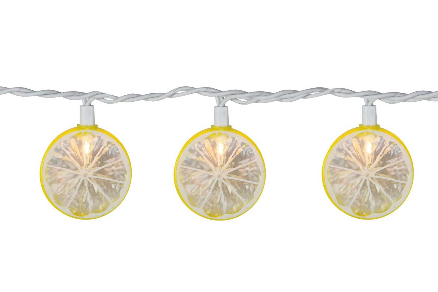 Dennis East mini lemon string lights