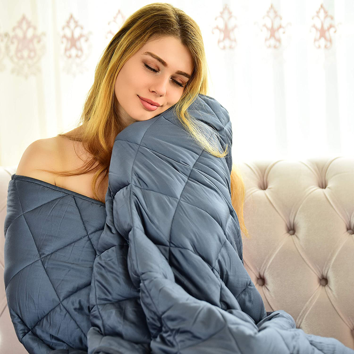 WONAP Cooling Weighted Blanket for Couple