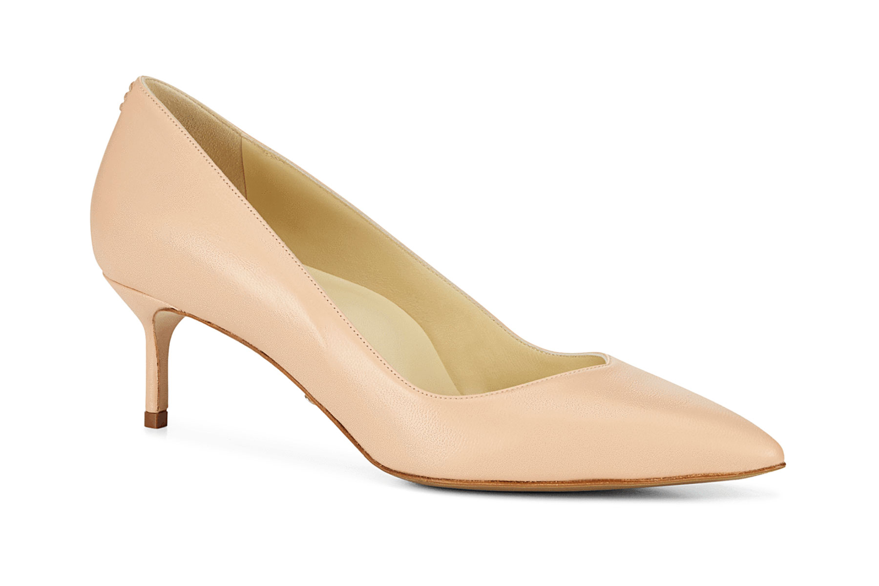 Blush heeled shoe