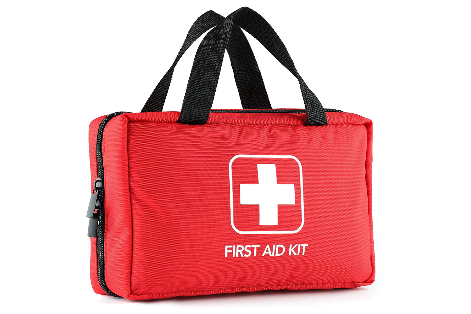 Red first aid kid