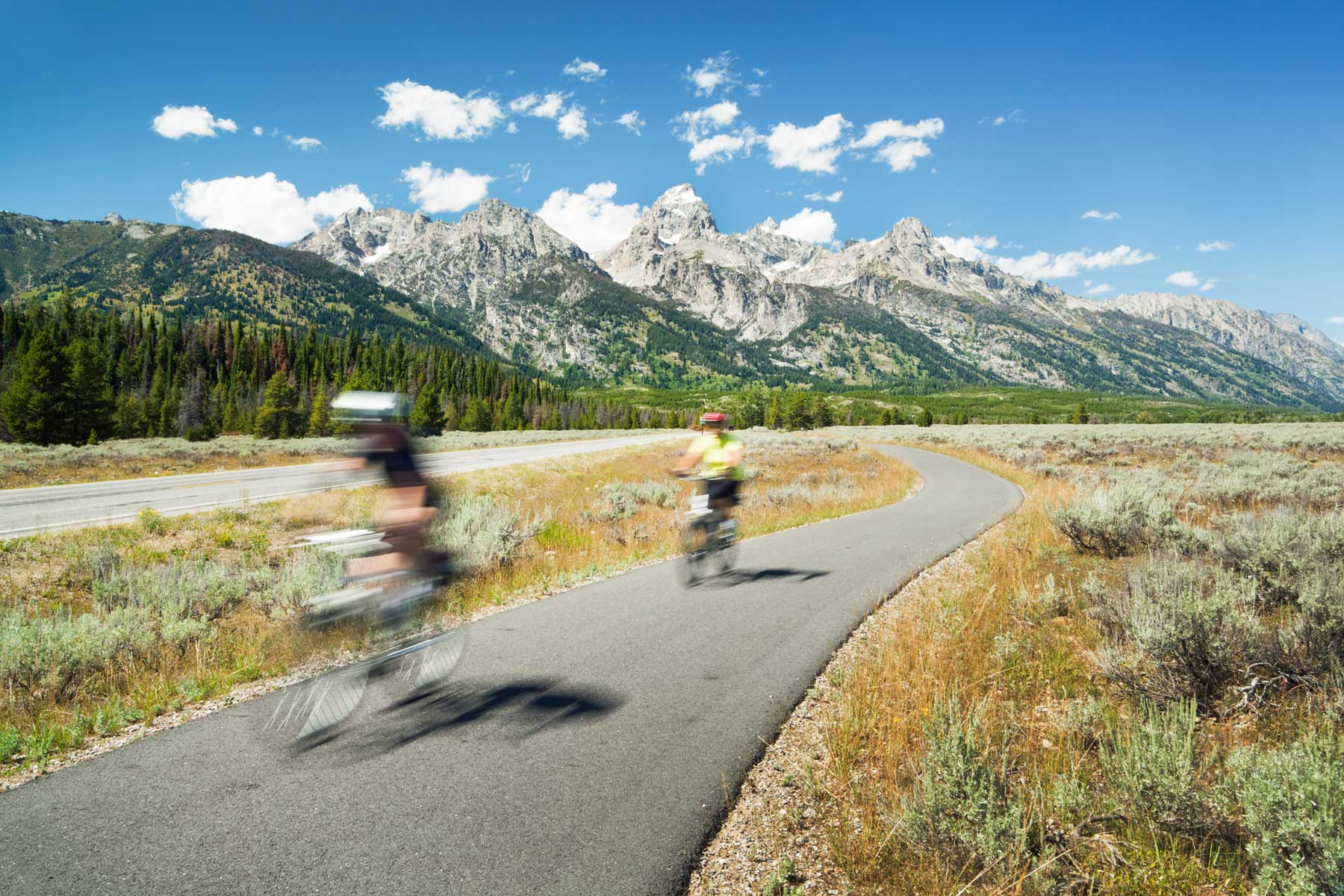 Mountain Biking Vacation and Touring of Grand Teton National Park