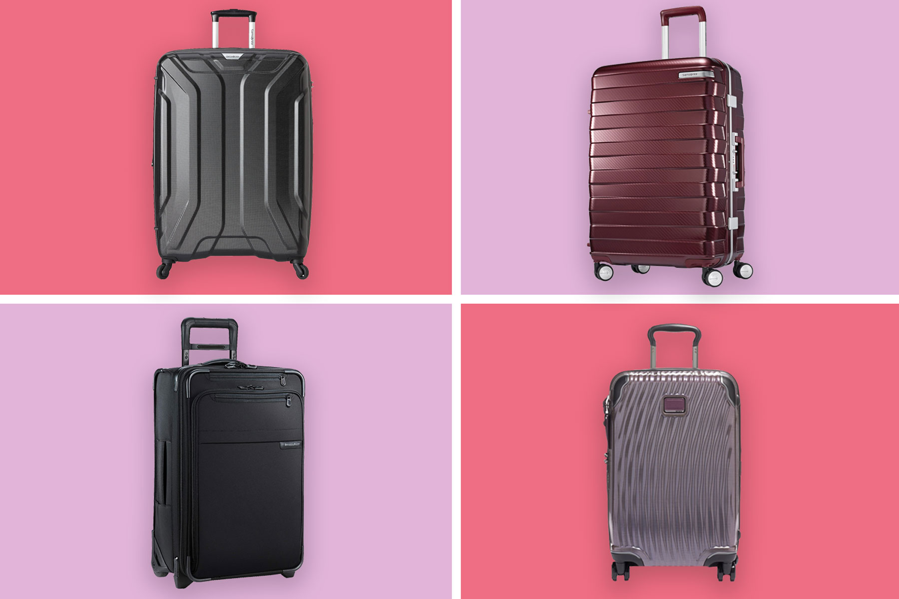 Various suitcases
