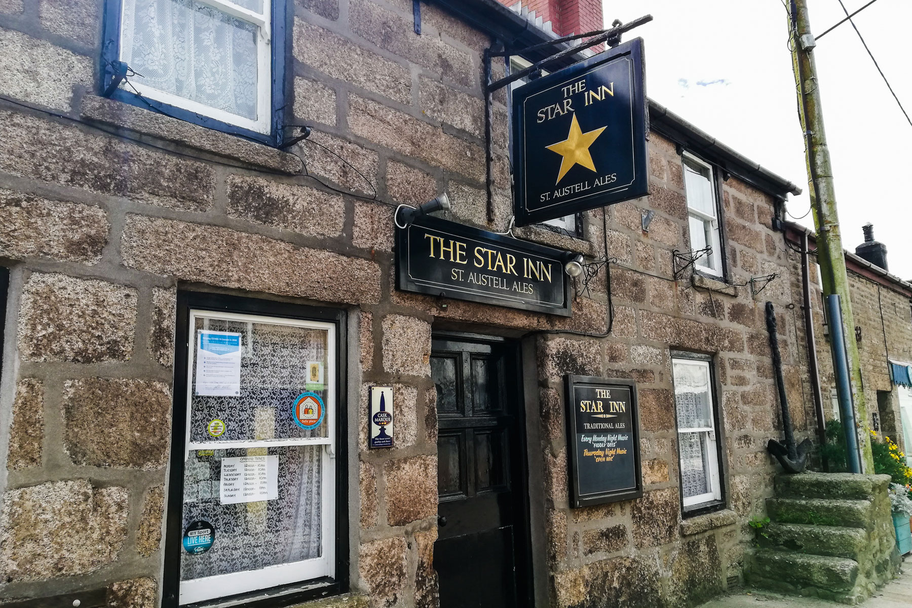 The Star Inn in St Just, Cornwall