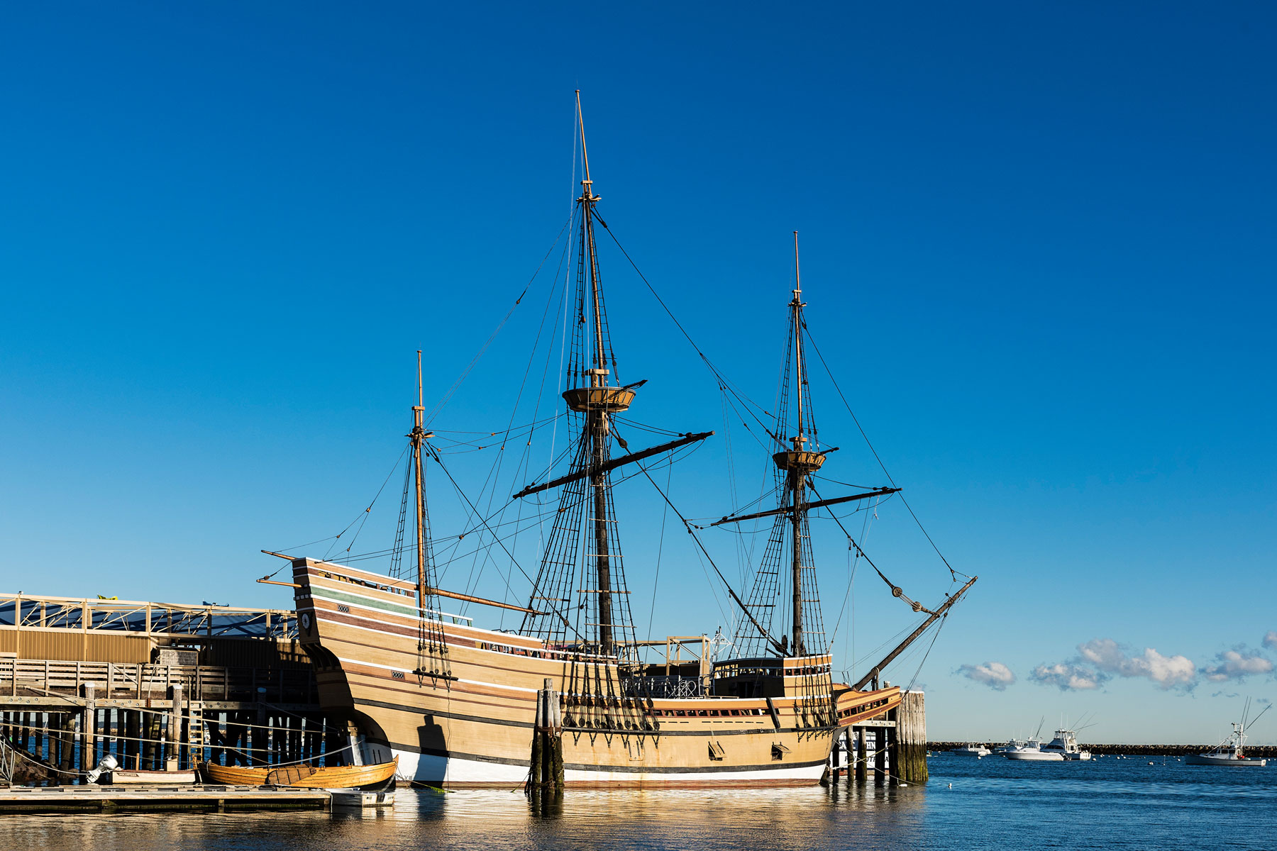 mayflower ship replica