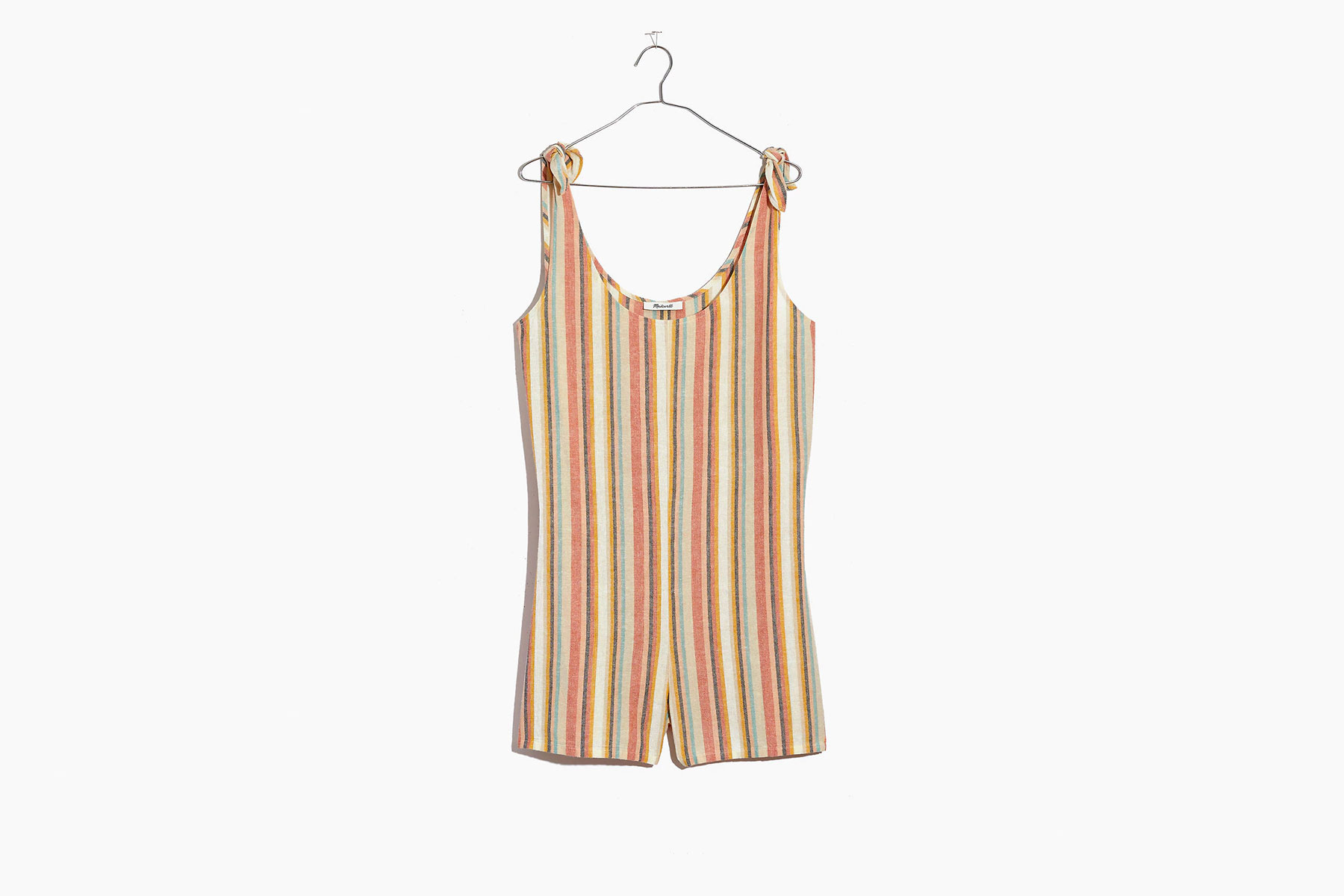 Madewell Tie-Strap Cover-up Romper