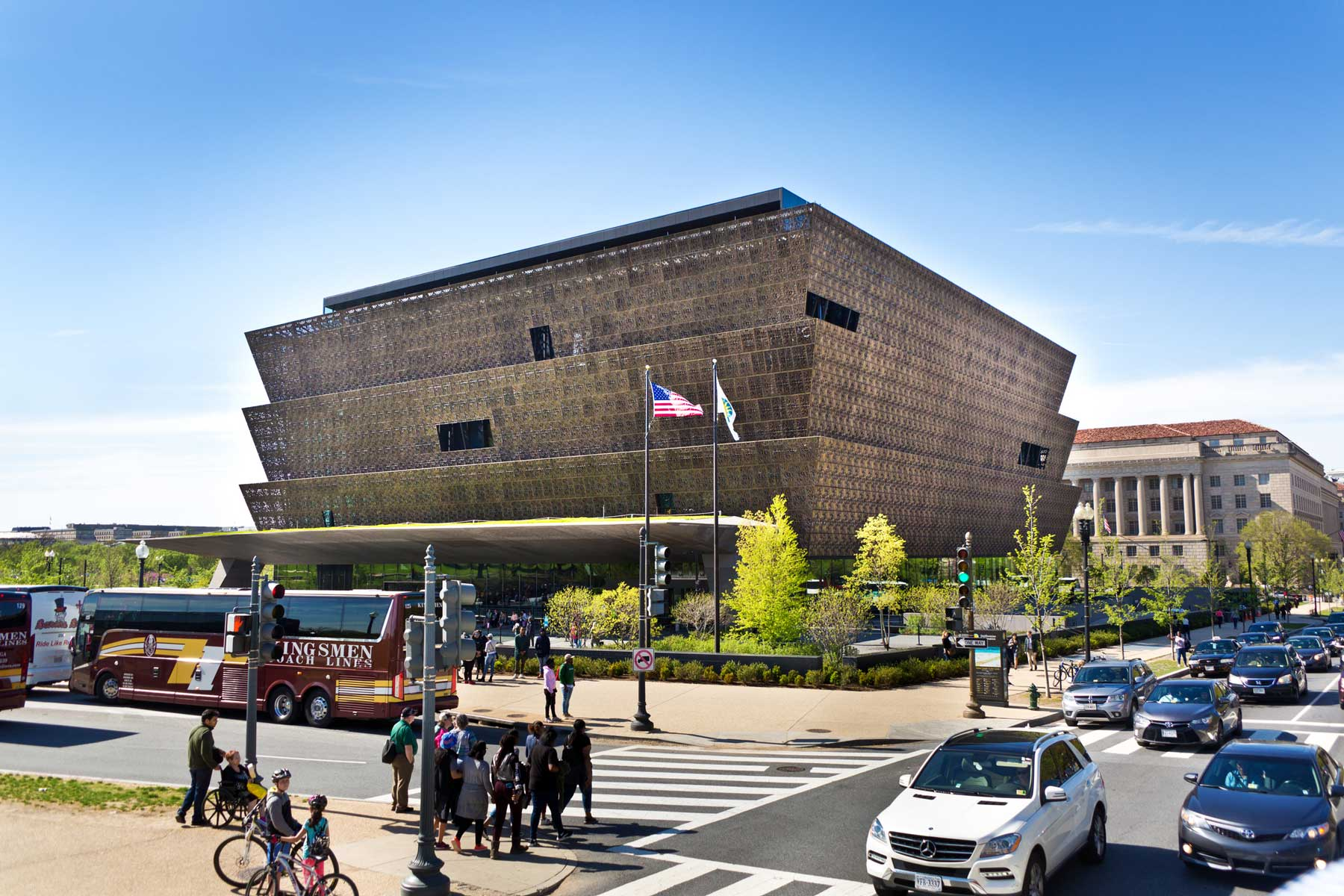 National Museum of African American History and Culture Building in Washington, D.C.