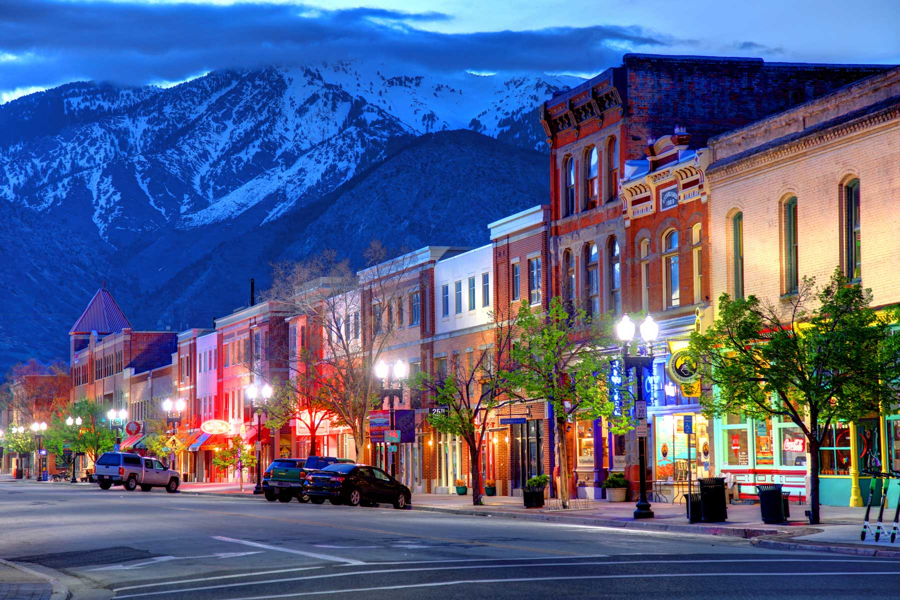 Ogden is a city and the county seat of Weber County, Utah