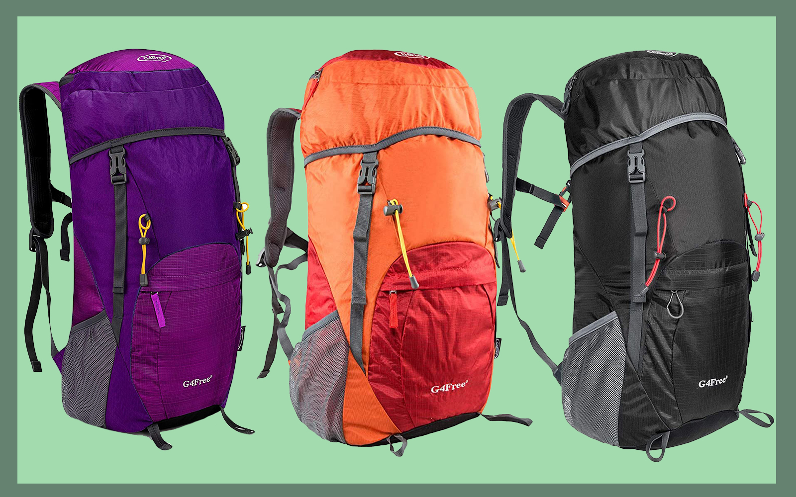 G4Free Packable Travel Backpack