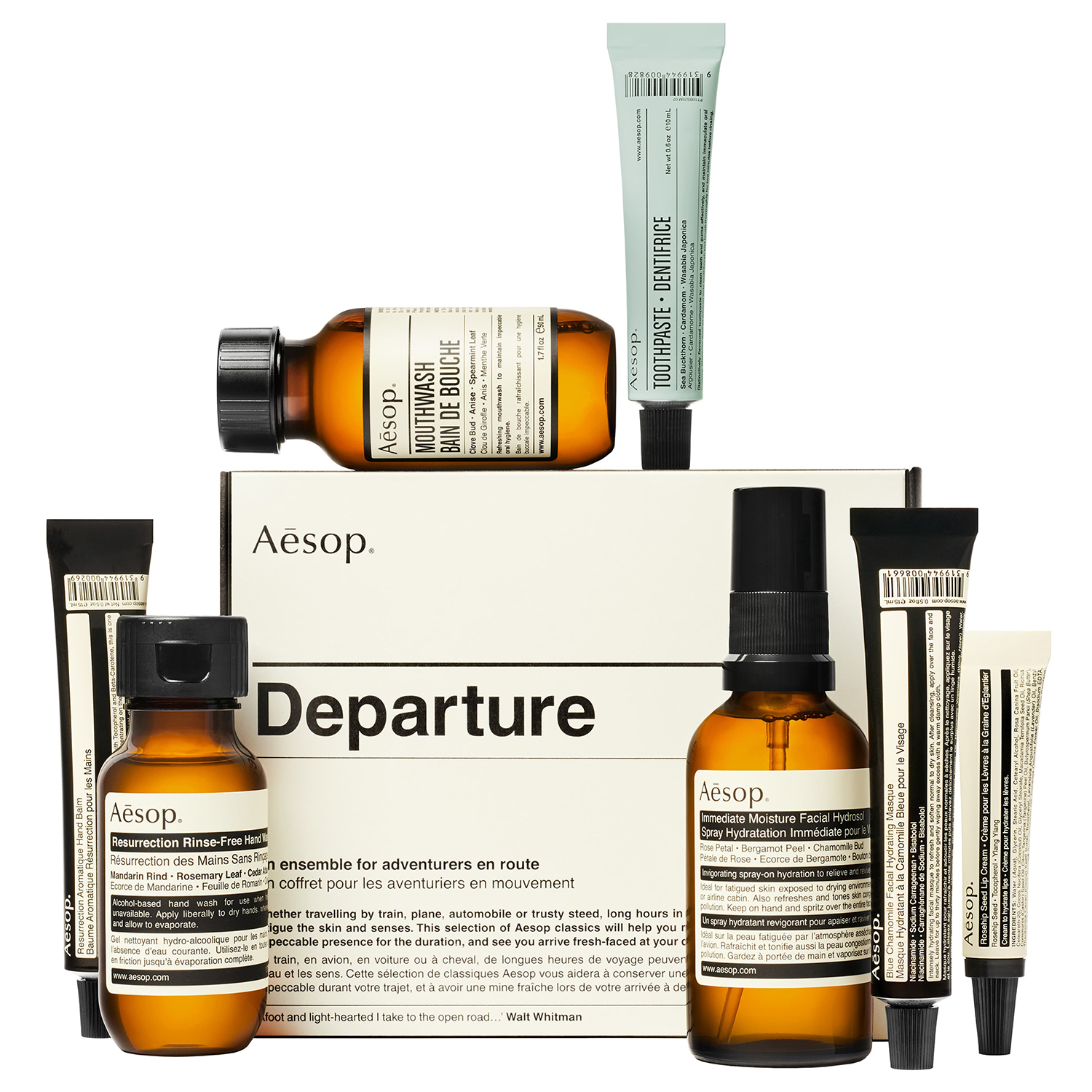 33. Aesop Departure Travel Kit