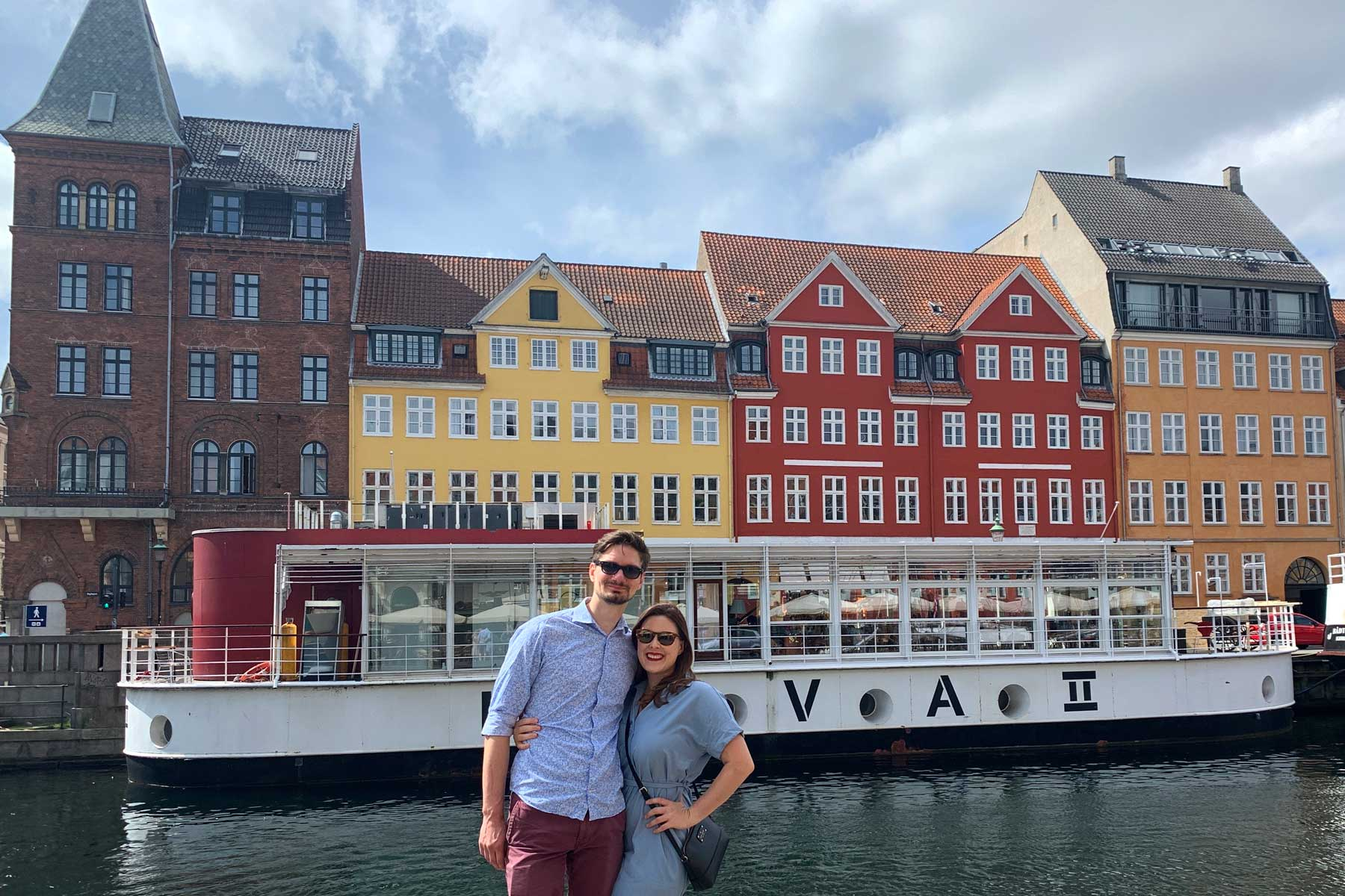 Copenhagen, Denmark being empty of tourists during the pandemic