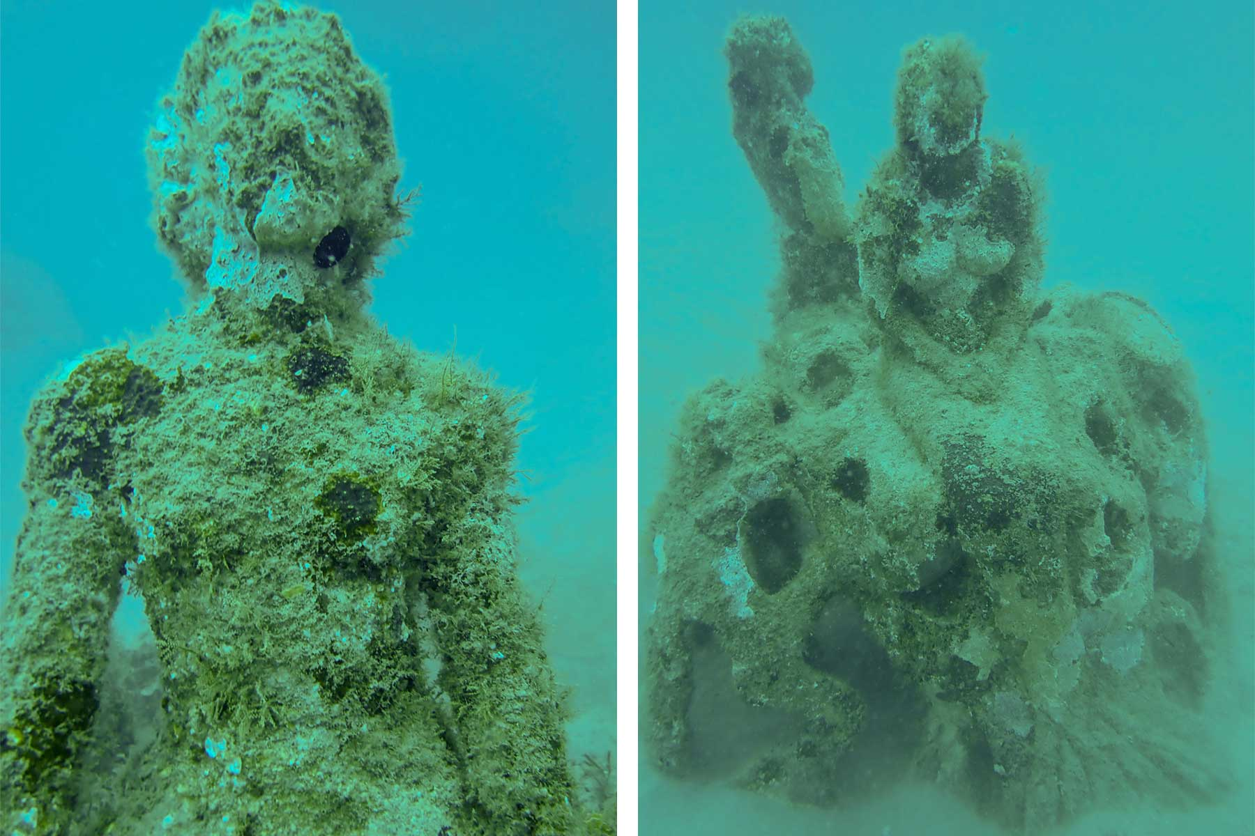 You Could Be Transformed Into a Mermaid Sculpture for an Artificial Reef in Florida