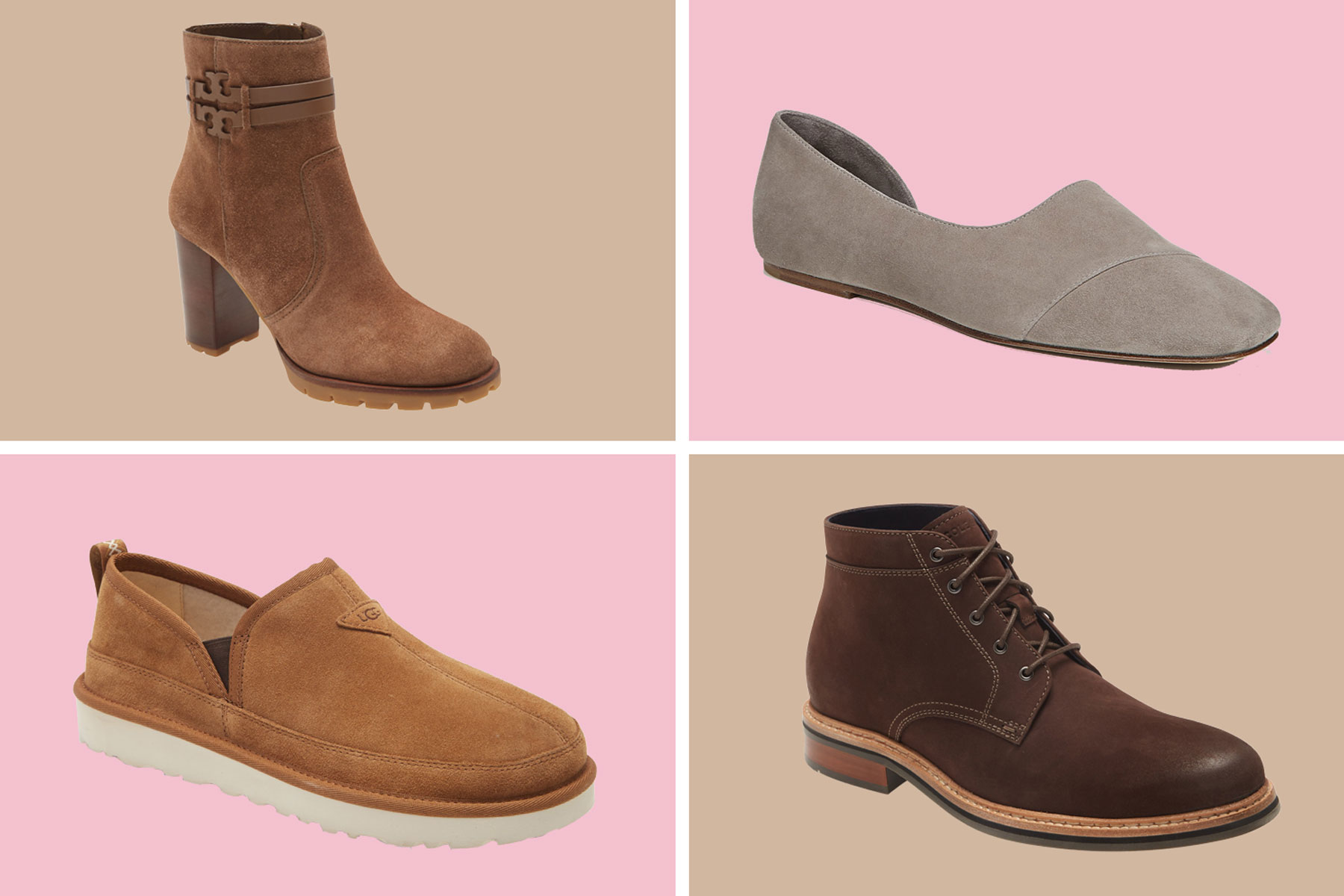 Various mens and womens shoes and boots