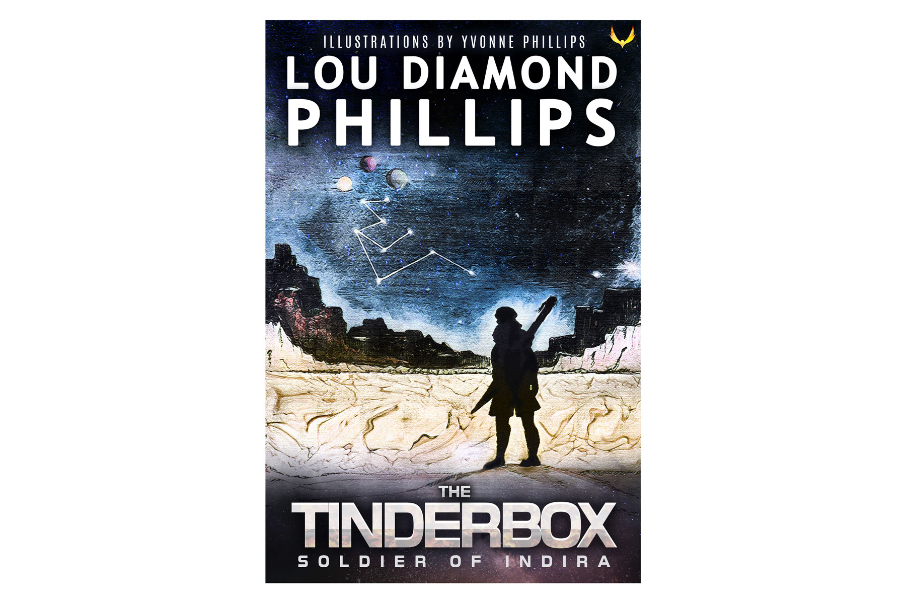 The Tinderbox: Soldier of Indira  by Lou Diamond Phillips