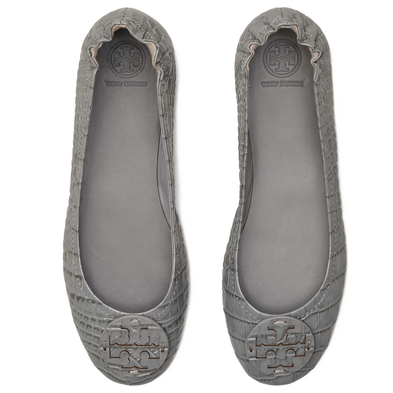 Minnie Travel Ballet Flat TORY BURCH