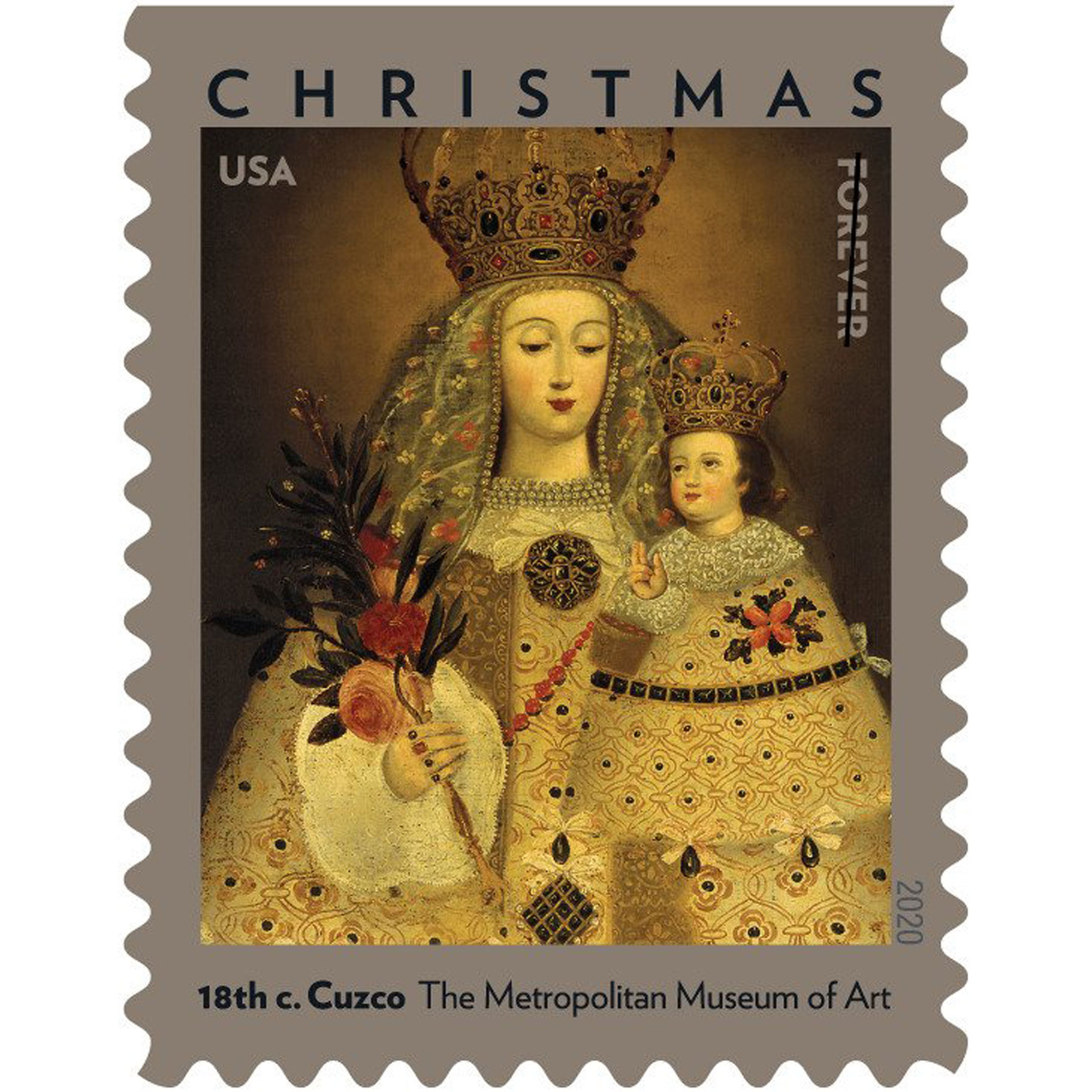 Our Lady of Guápulo stamp