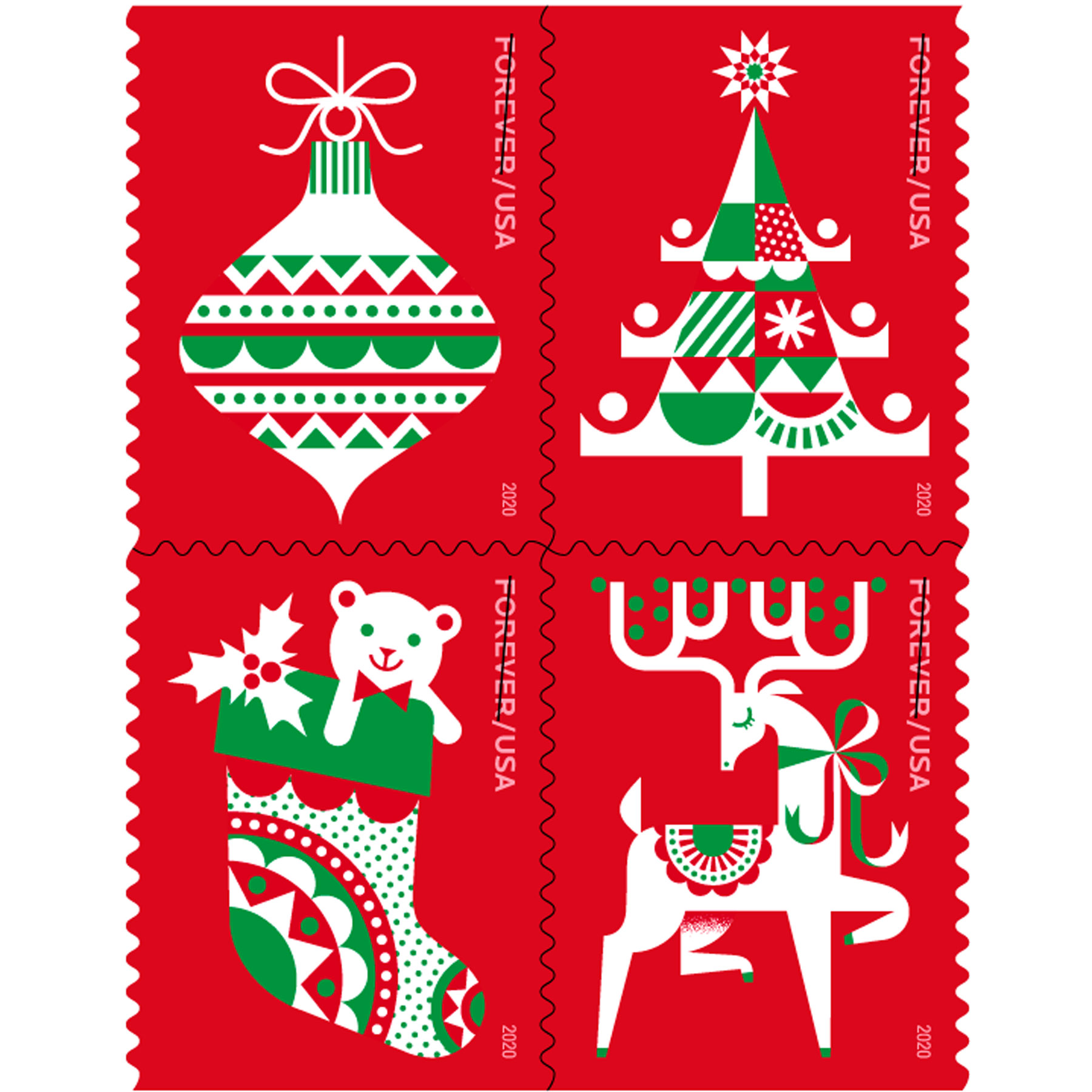 Holiday Delights stamp
