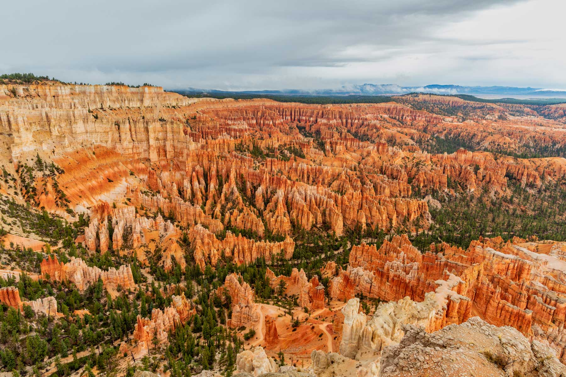 Utah, Bryce Canyon National Park, Bryce Canyon and Hoodoos
