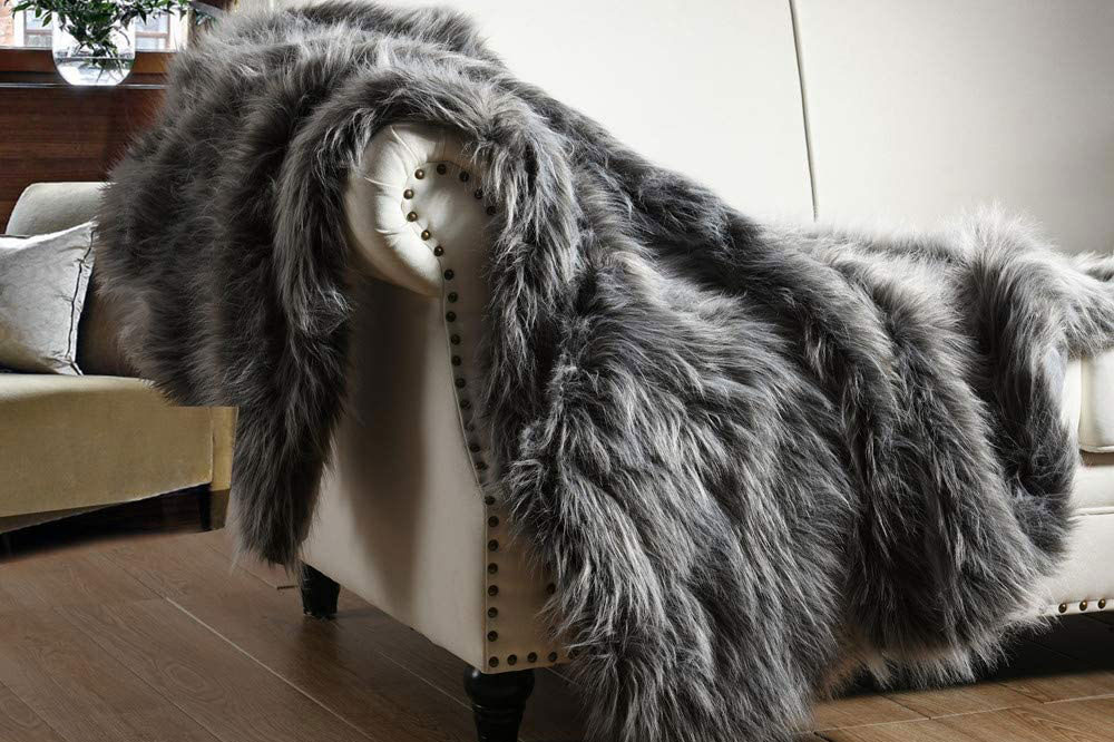 faux fur throw amazon