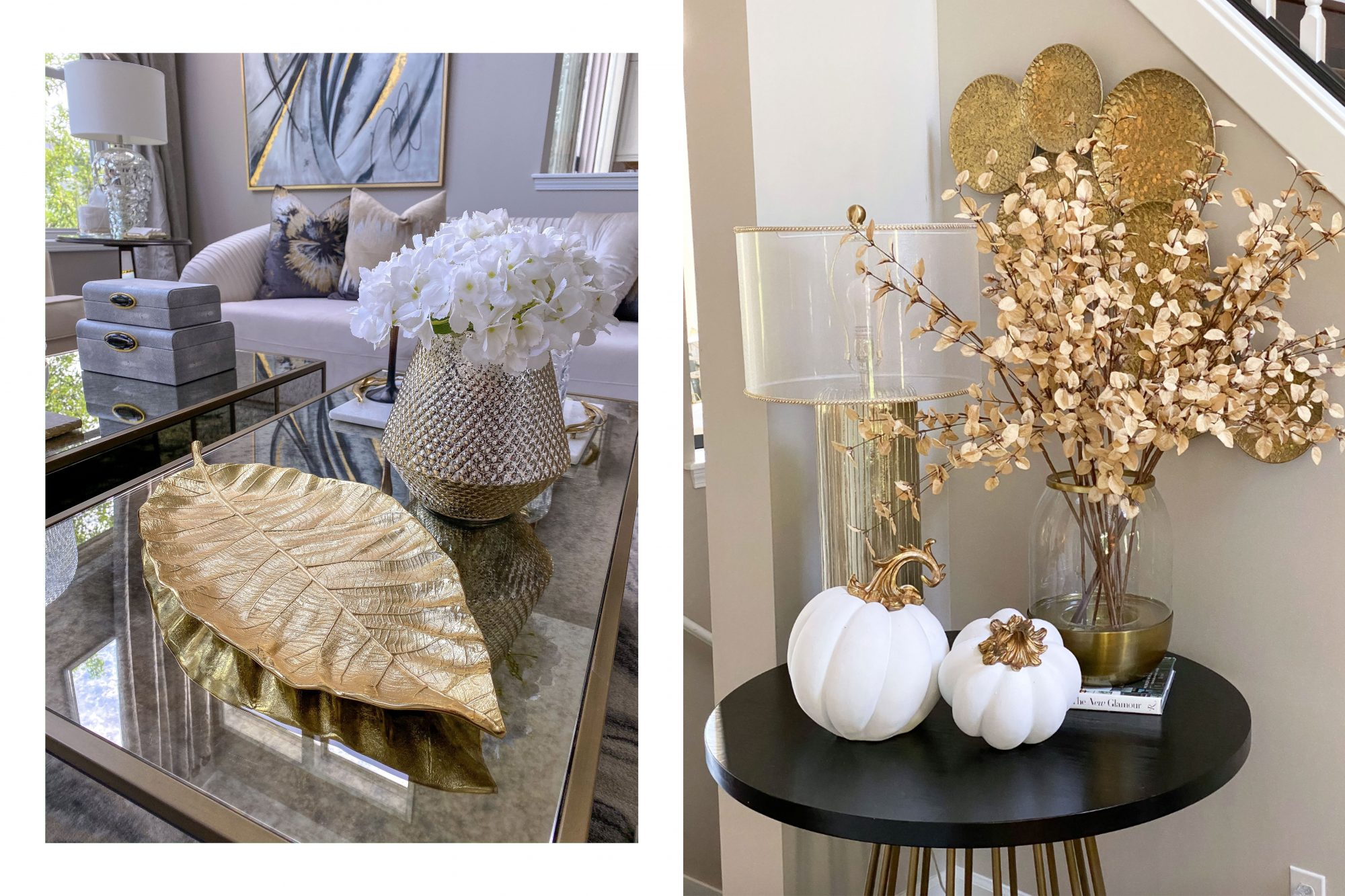 holiday fall home decor
