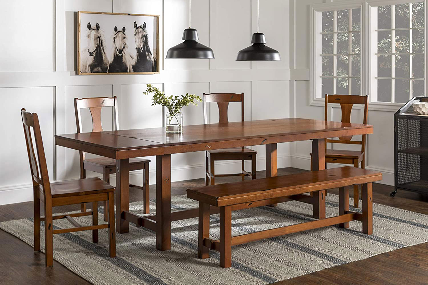 amazon dining wood set
