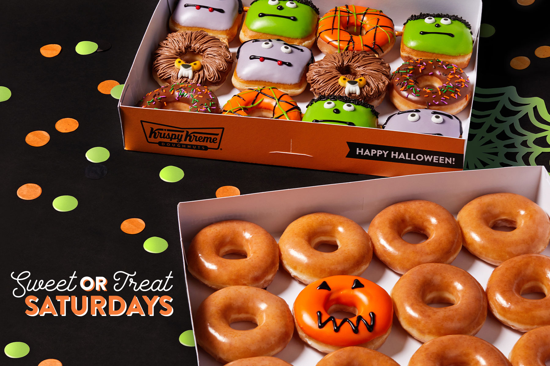 Krispy Kreme 'Sweet or Treat' doughnuts