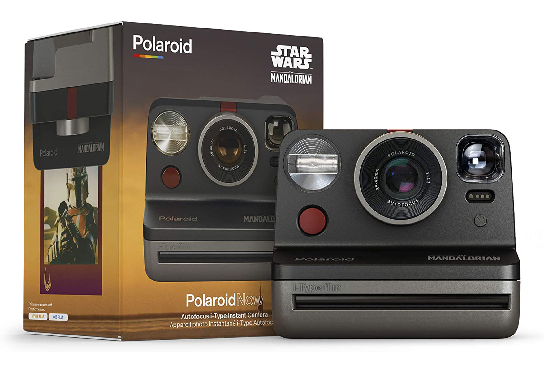 Star Wars-themed Polaroid camera