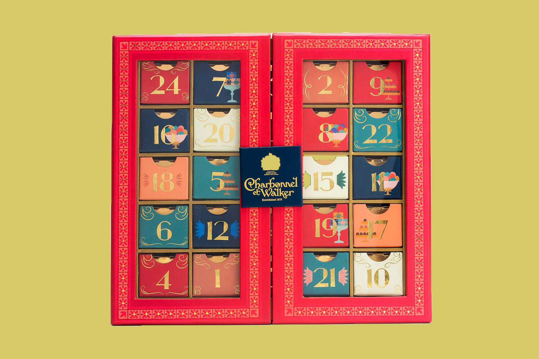 Charbonnel et Walker Christmas 2020 Chocolate & Truffle Advent Calendar