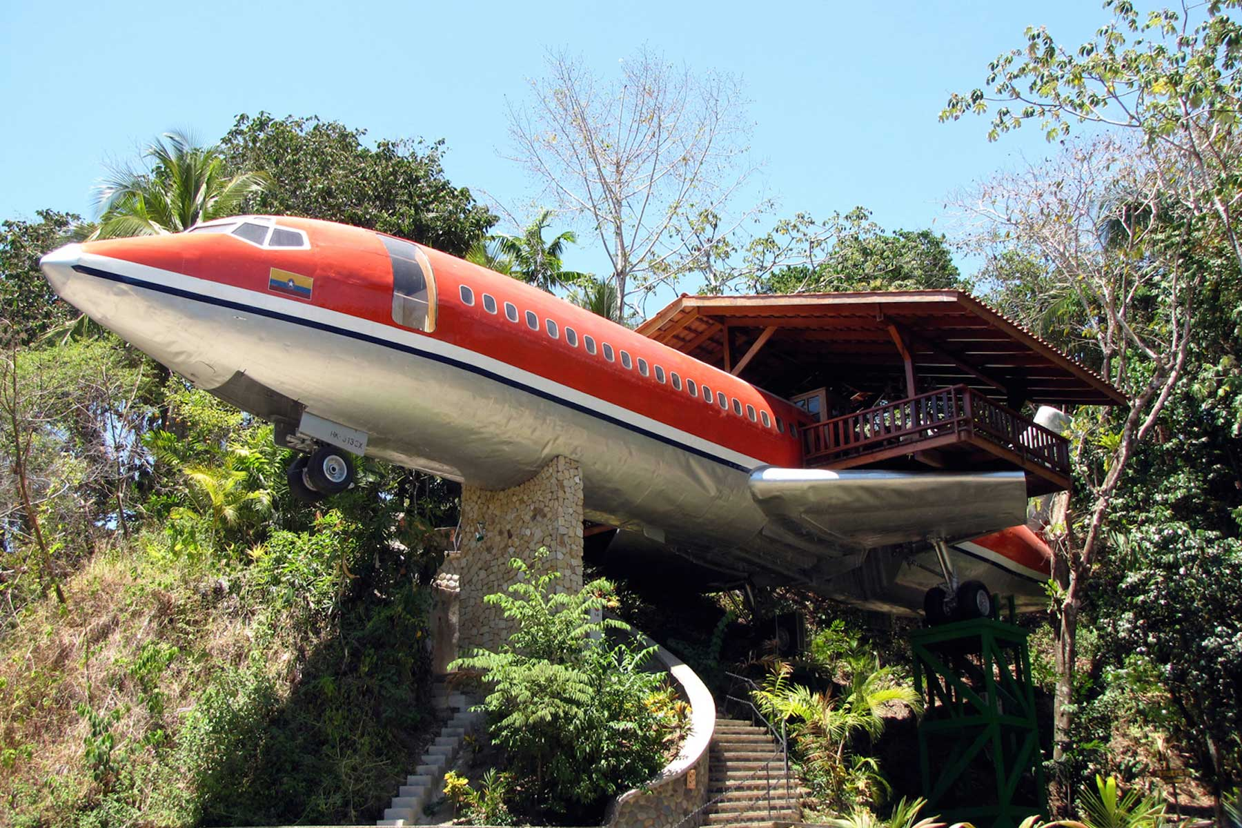A 747 Airplane as a home you can rent