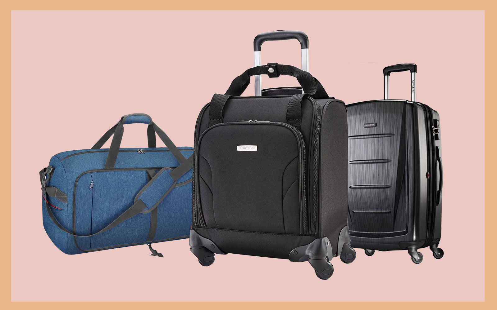 samsonite luggage, canway carry on
